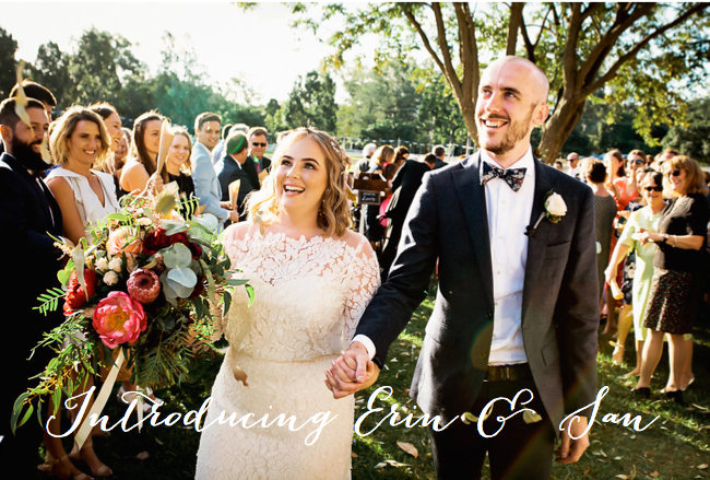Introducing Erin & Sam Nicklin <3 // Photo Cred: Quince & Mulberry Studios