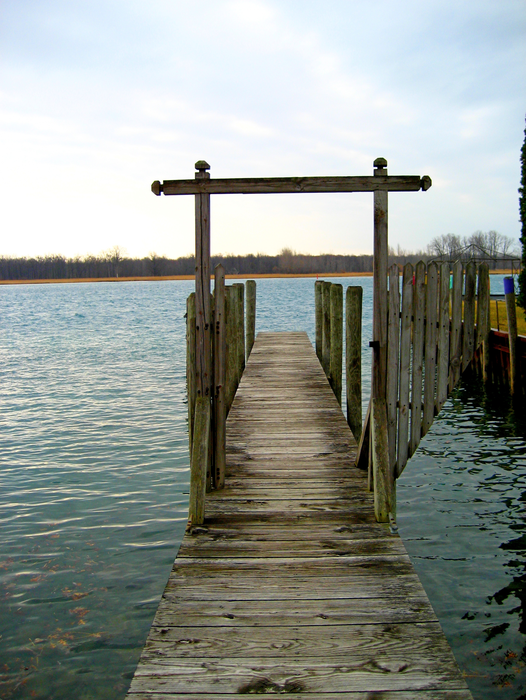 Dock near where we enter the river.