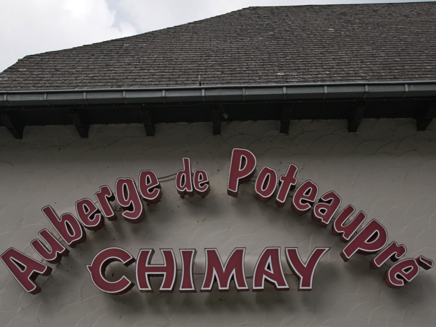 Chimay museum, restaurant and tasting room.