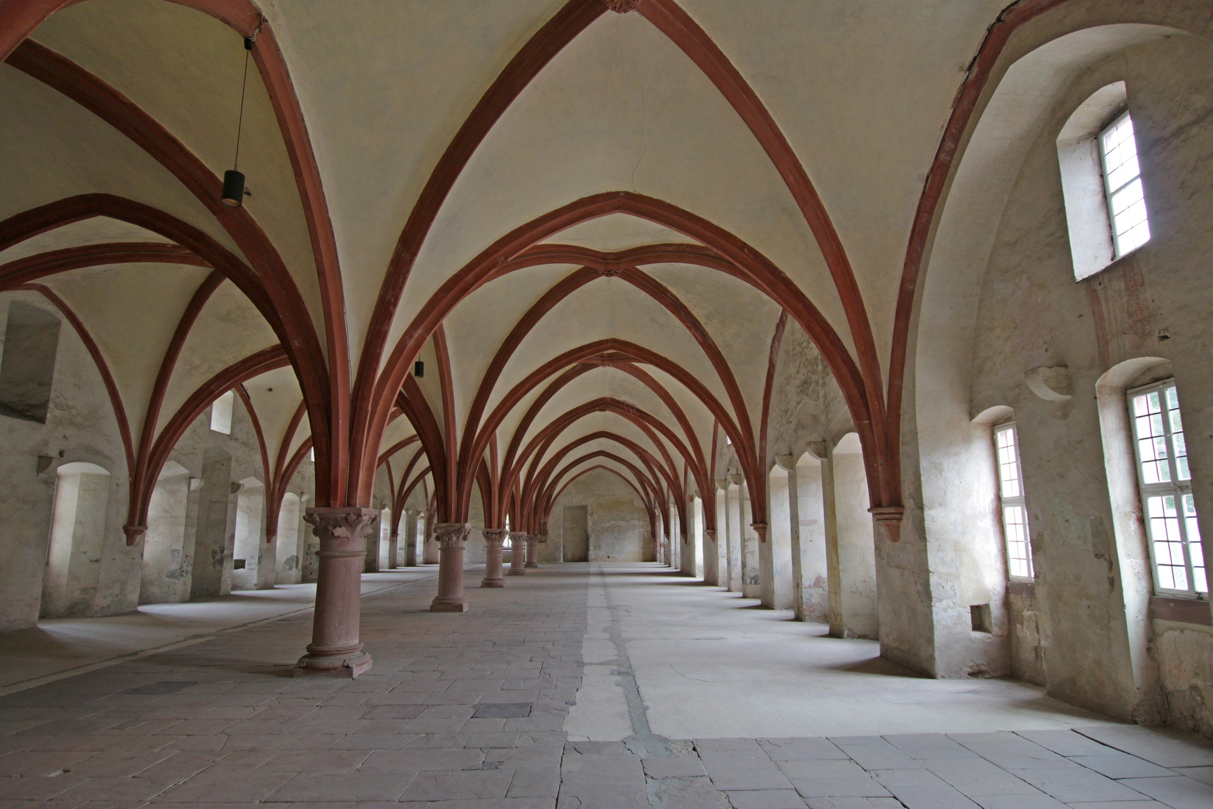 Eberbach Abbey Dormitory - Ertville, Germany - September 2014