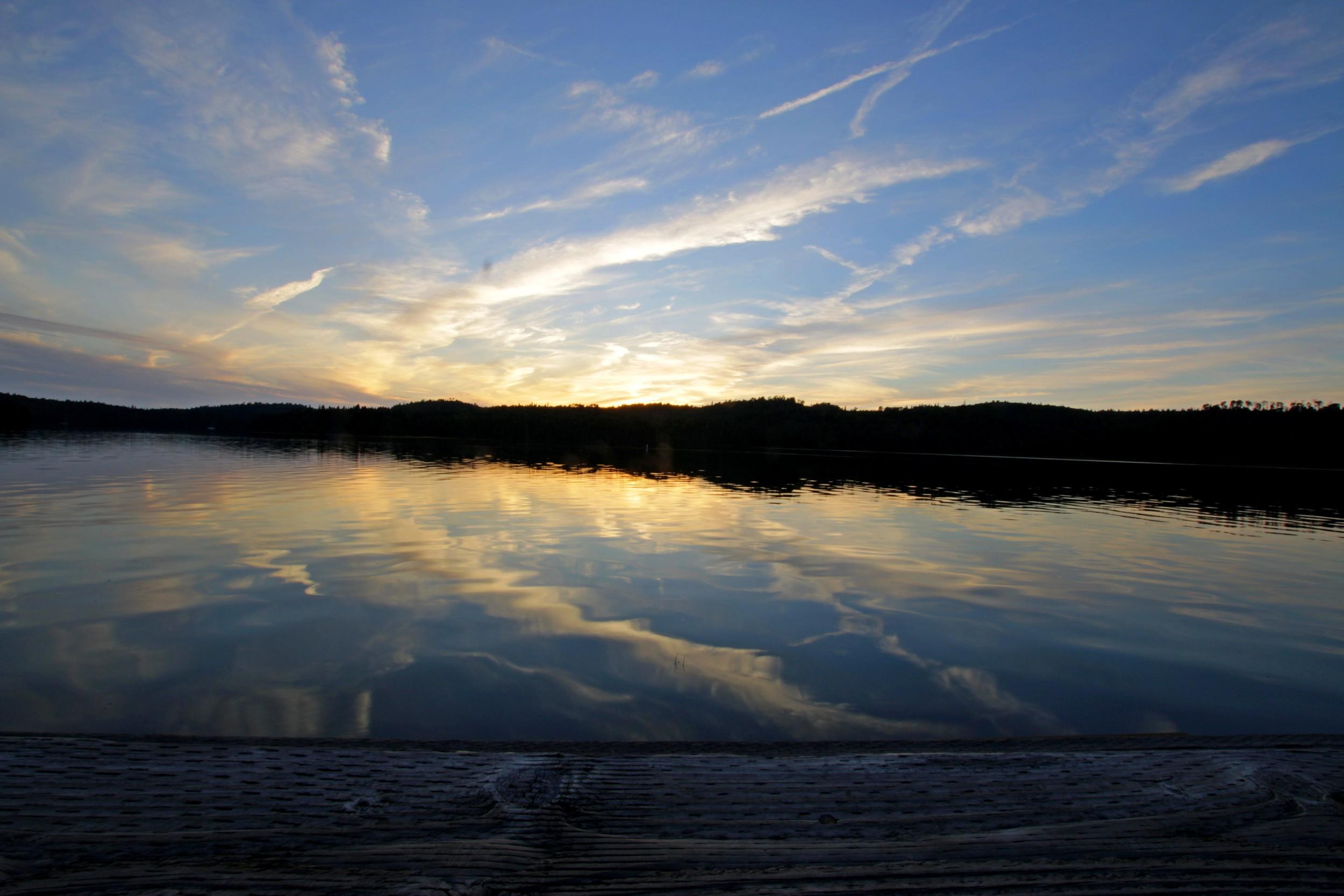 Sunset - Isle Royale, MI - July 2014