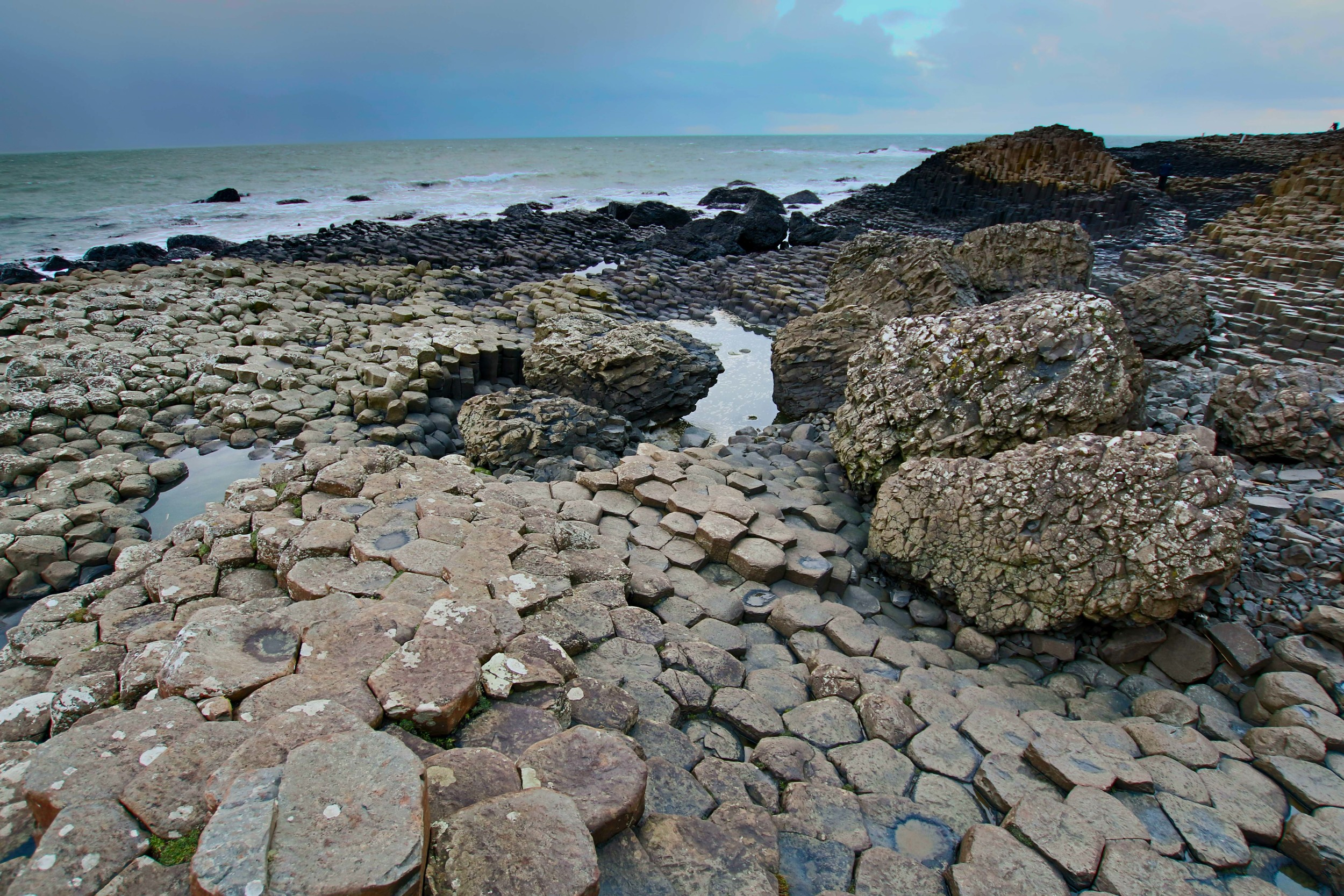 Giant's Causeway. The pictures really can't do this place justice.