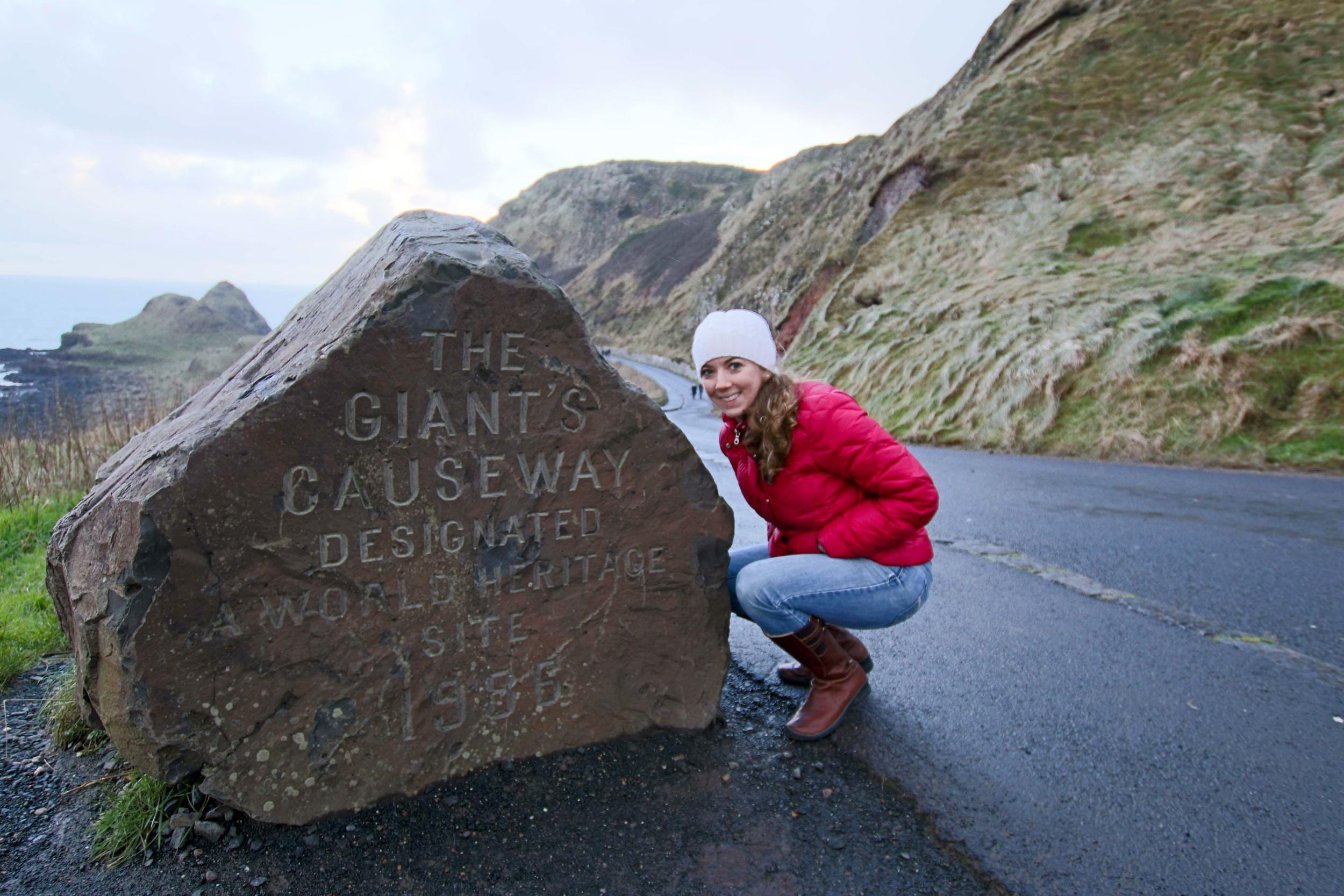 Giant's Causeway!