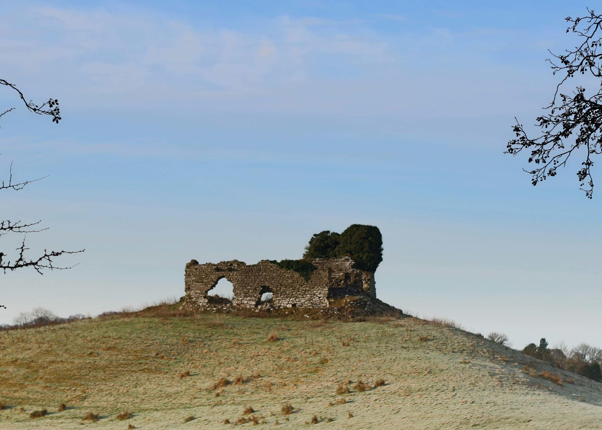 Ruins on an Irish Hilltop