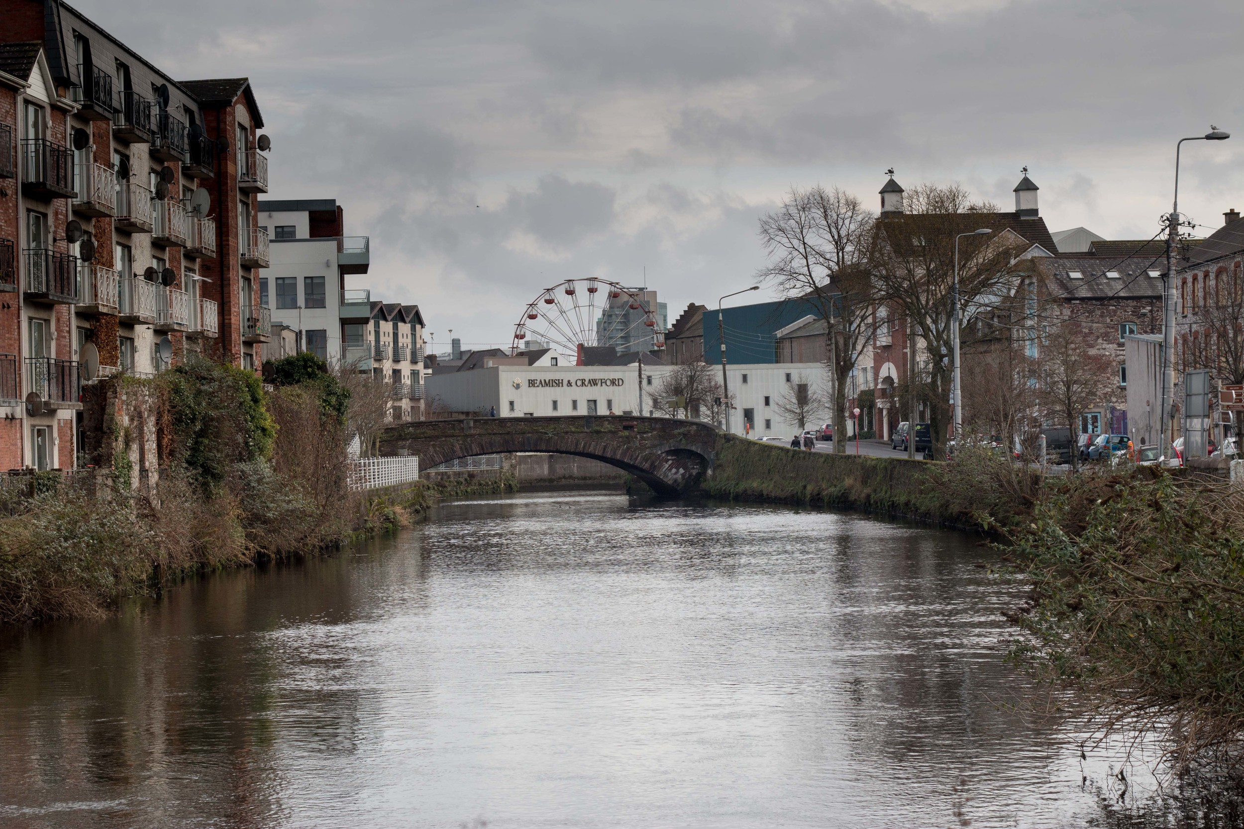 The River Lee running through Cork