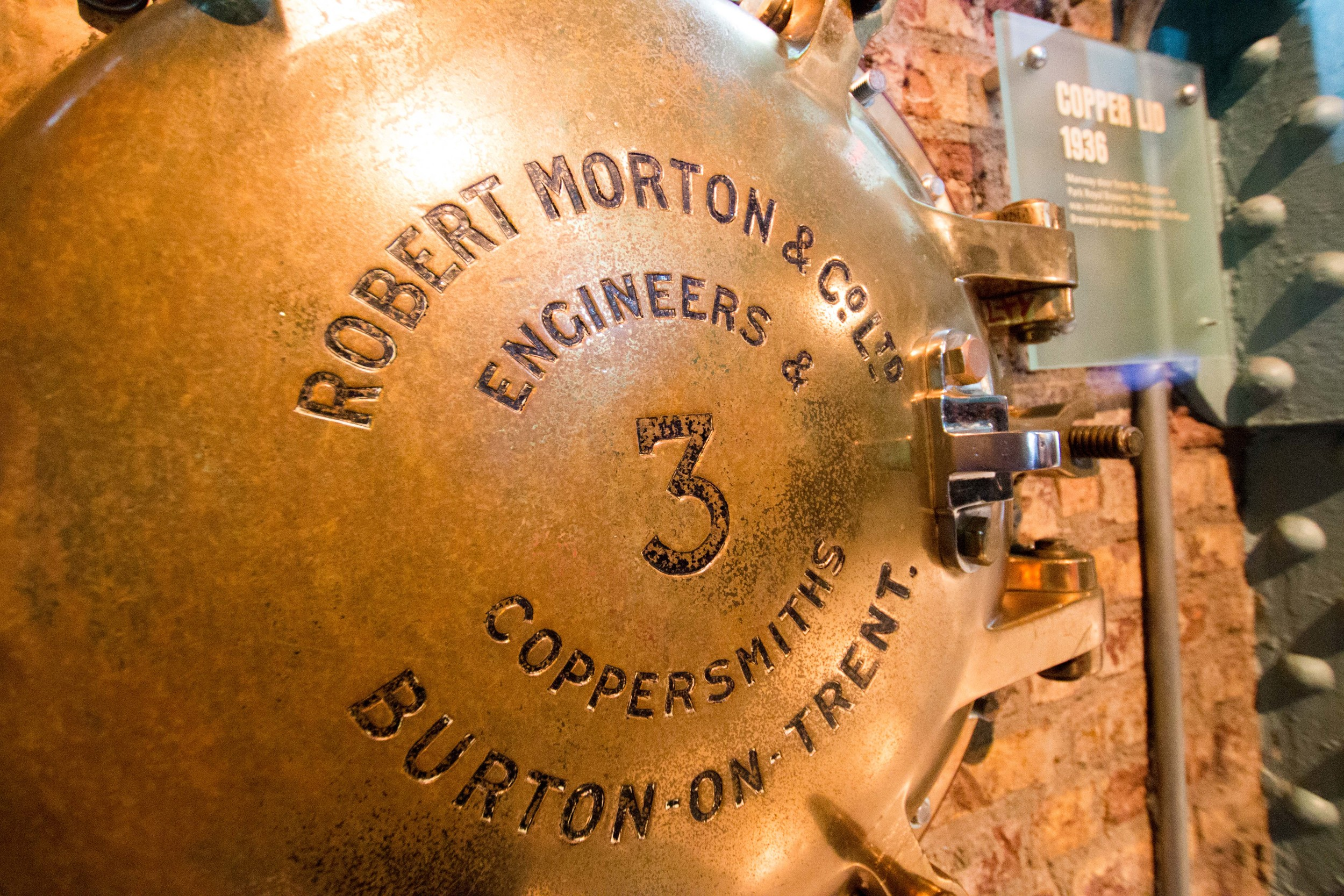 Neat machinery from the Guinness Brewery