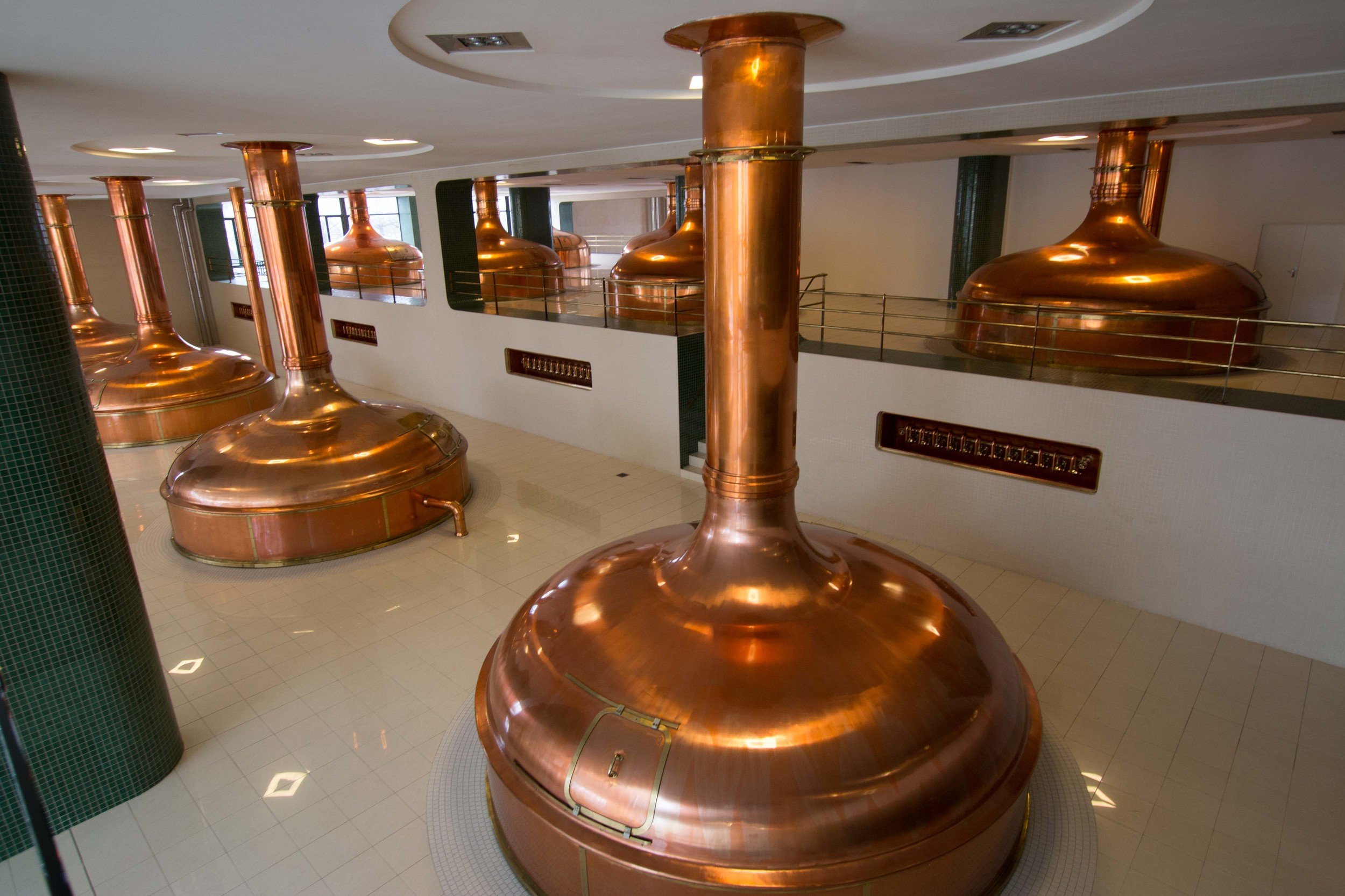 The new Pilsner Urquell brewing Gallery