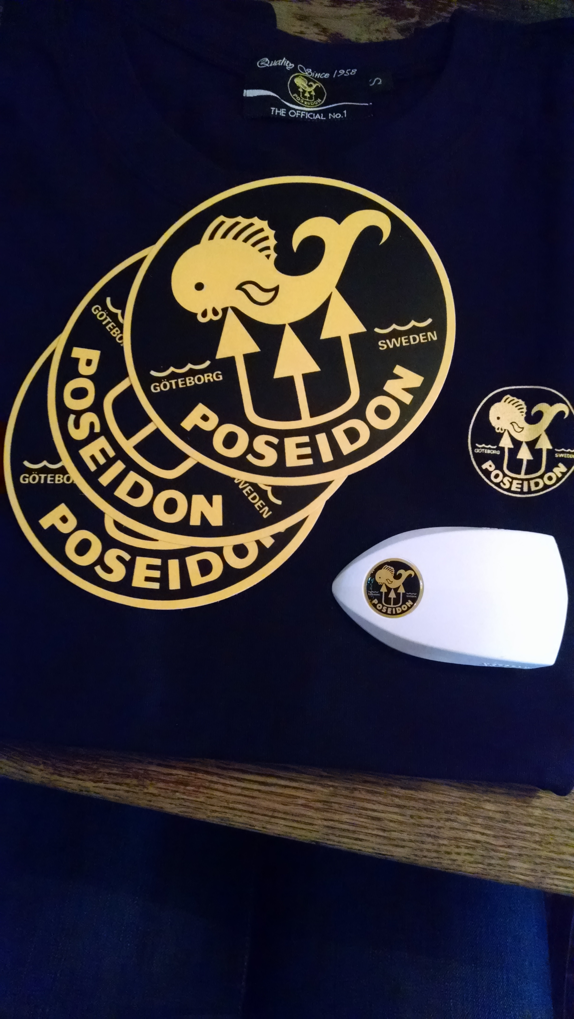 Awesome swag from Poseidon