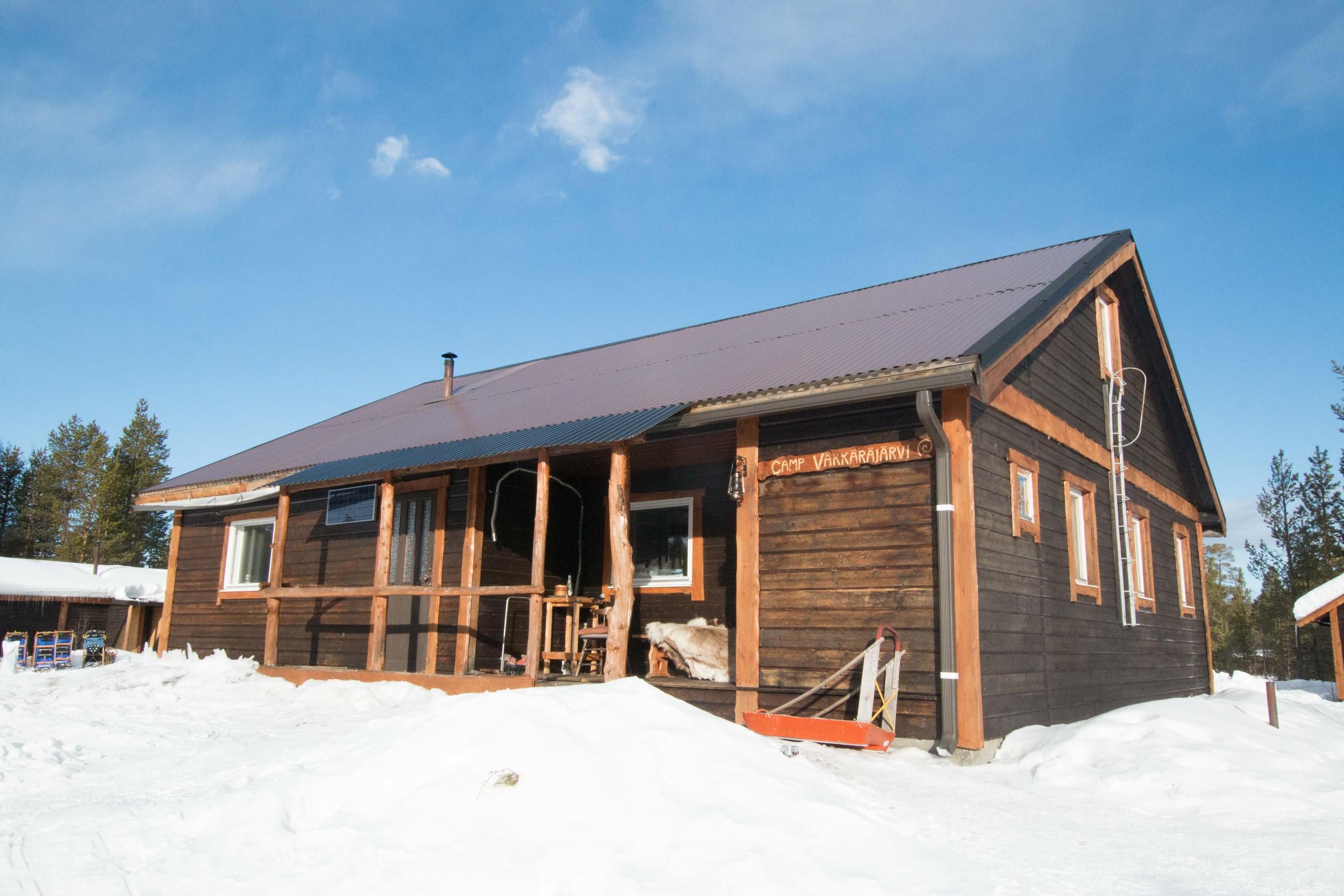 wilderness camp main cabin