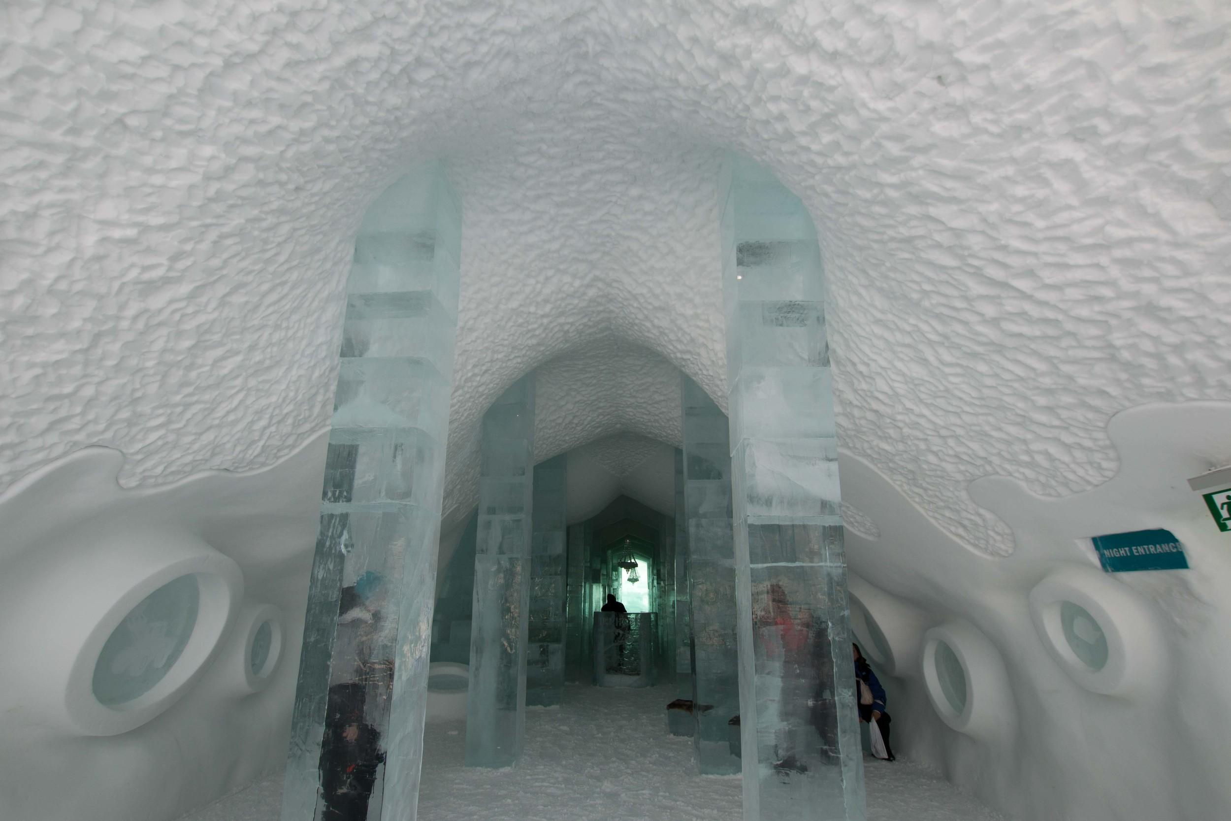 Sneak peek into the ICEHOTEL