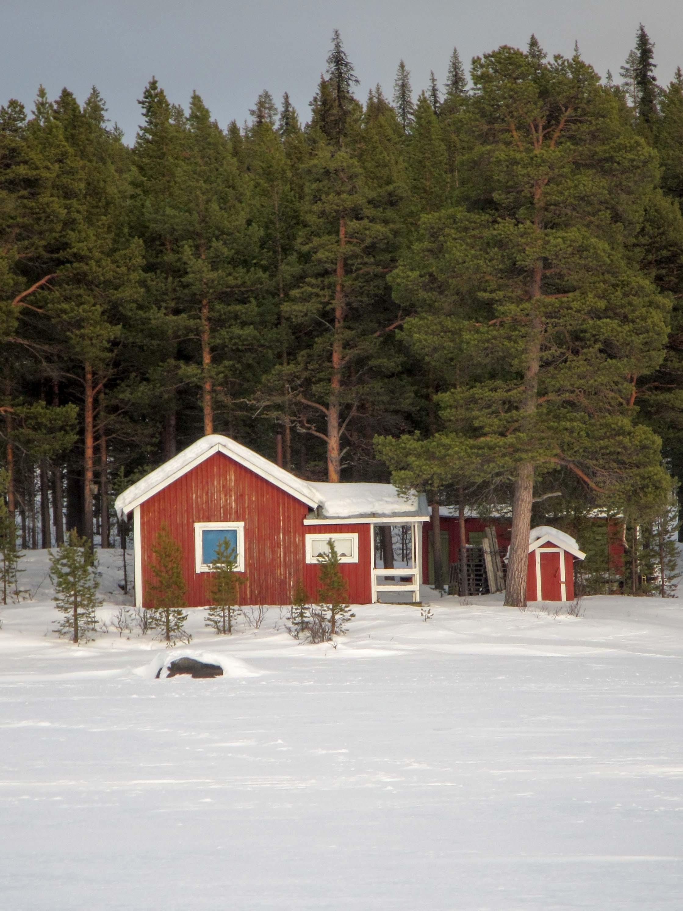 Lake house in the Swedish wilderness. I'll take one please!