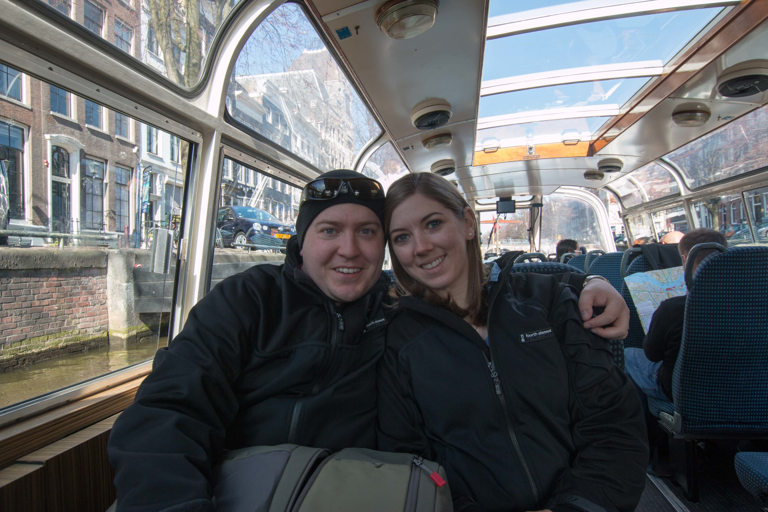 Aaron and I on the canal tour. Finally we got some pictures together this trip!