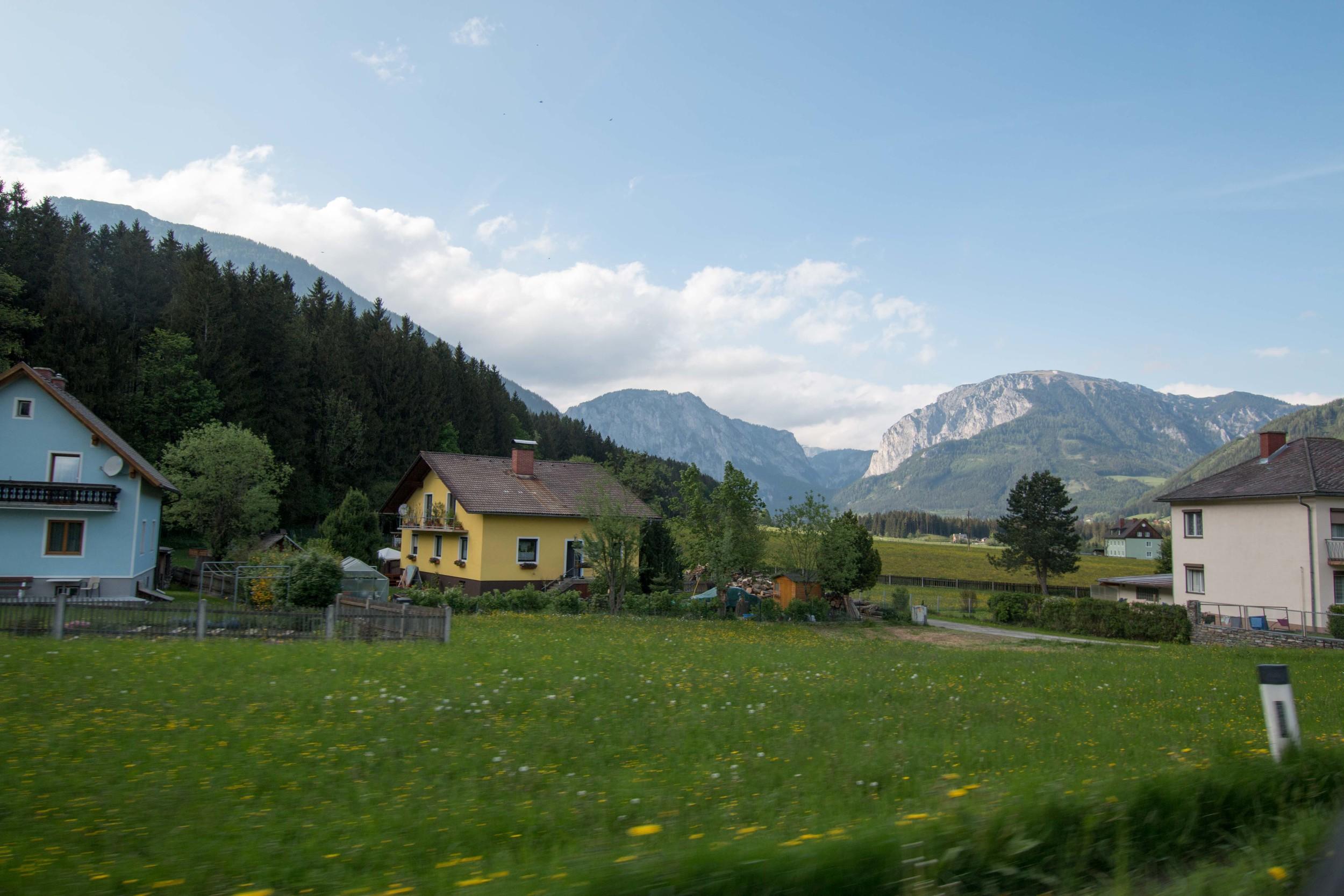 GORGEOUS Austrian countryside