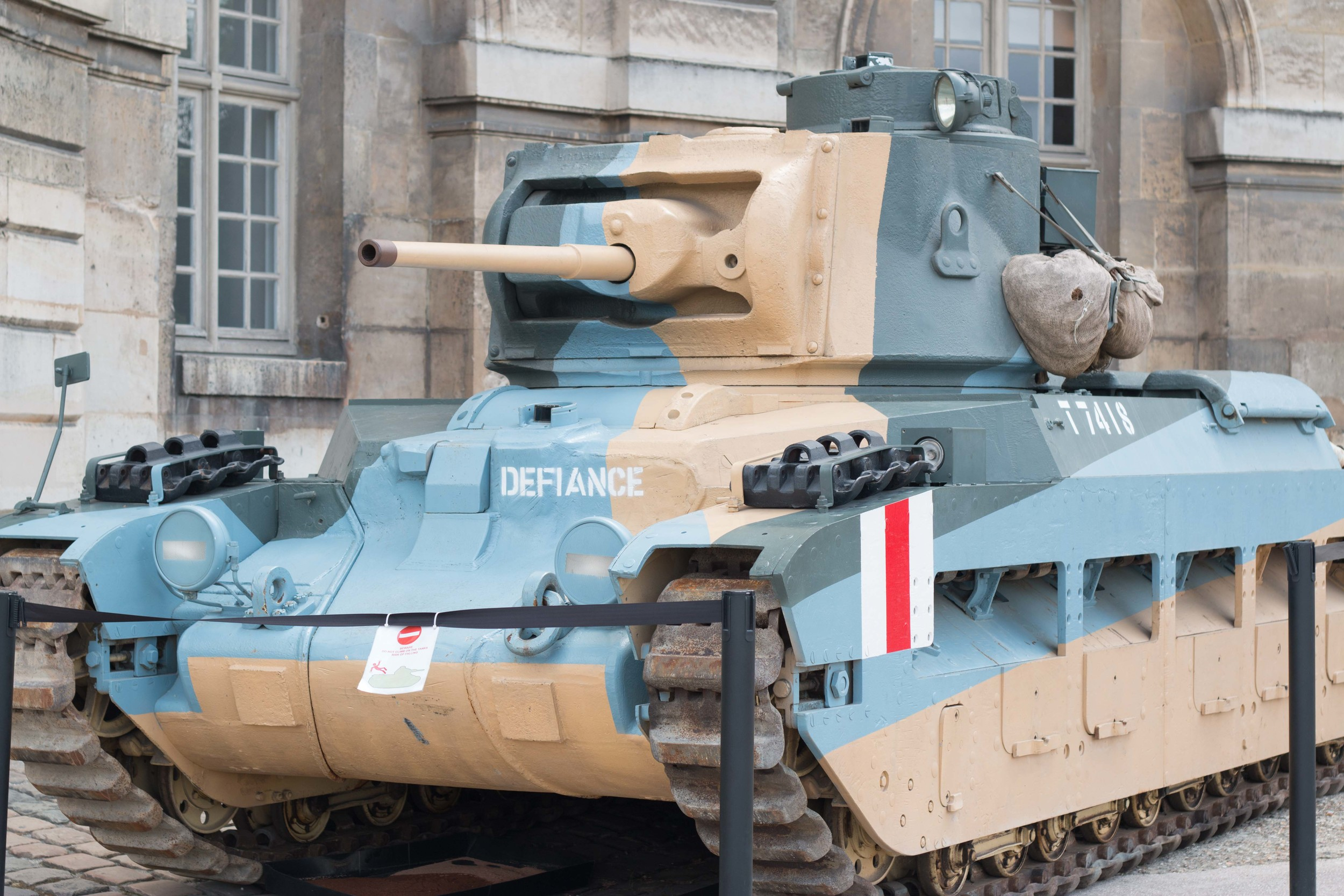 French Tank from World War II