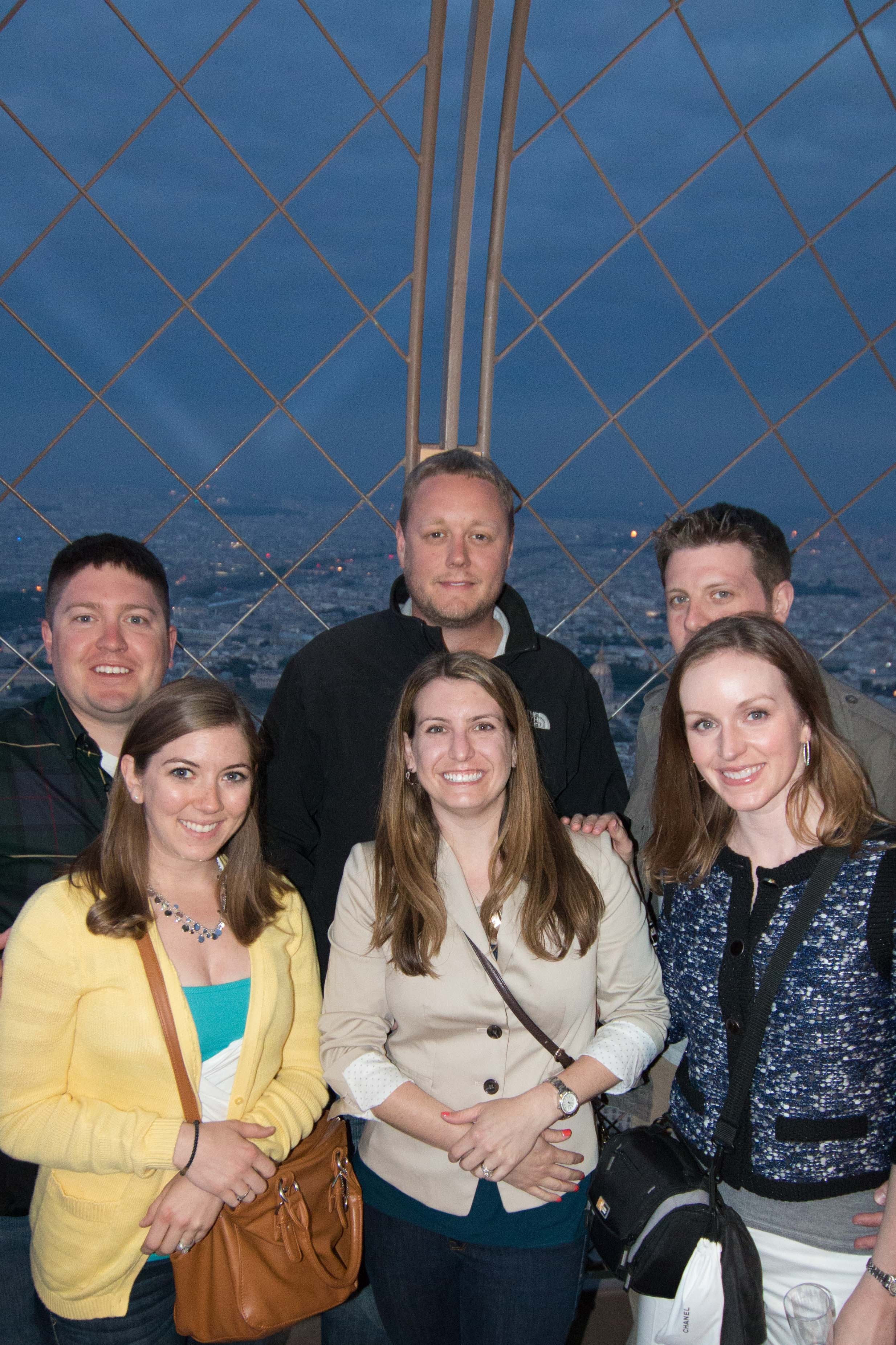 Group shot from the top!
