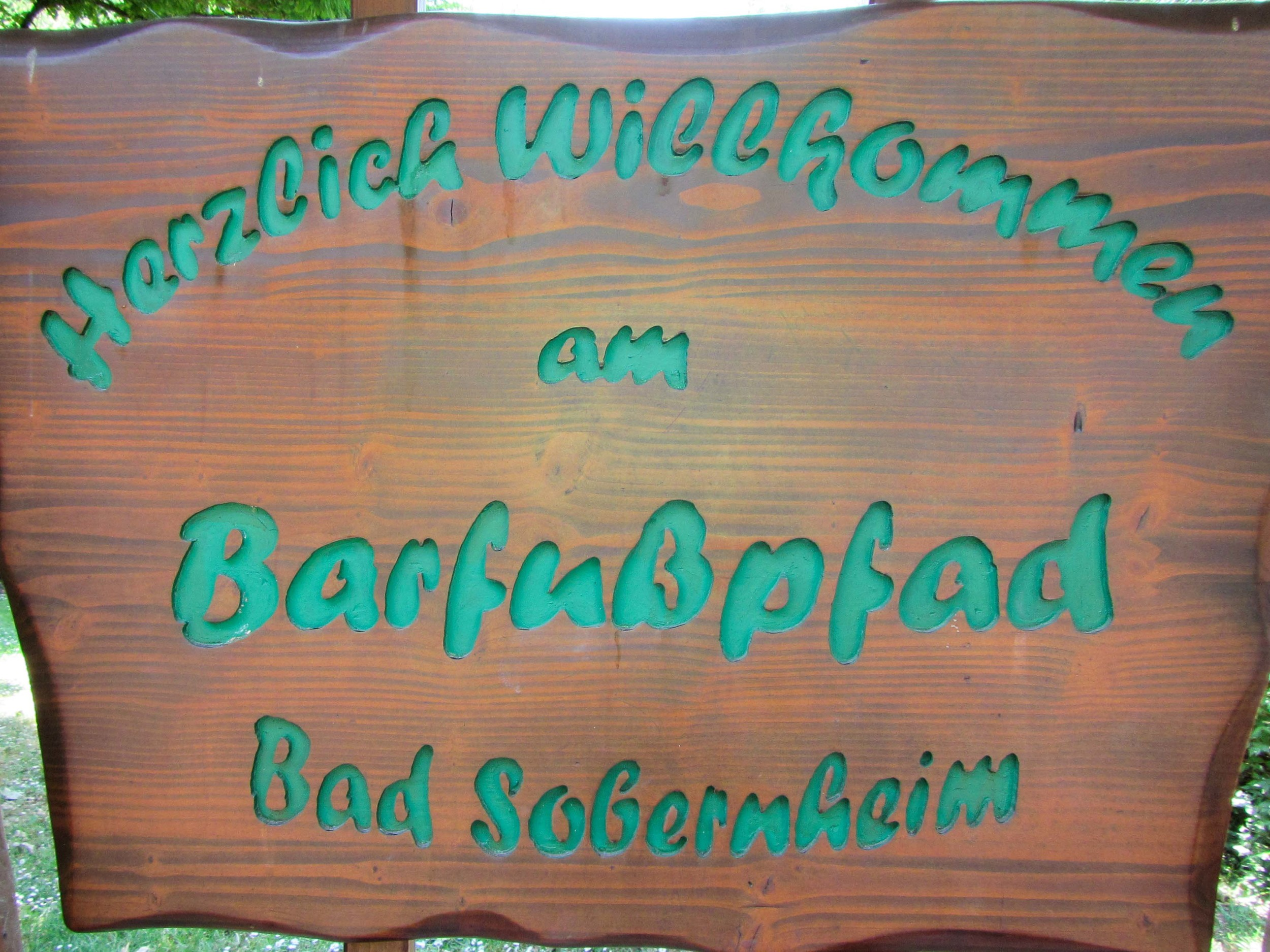 Warmest welcome to Barfußpfad