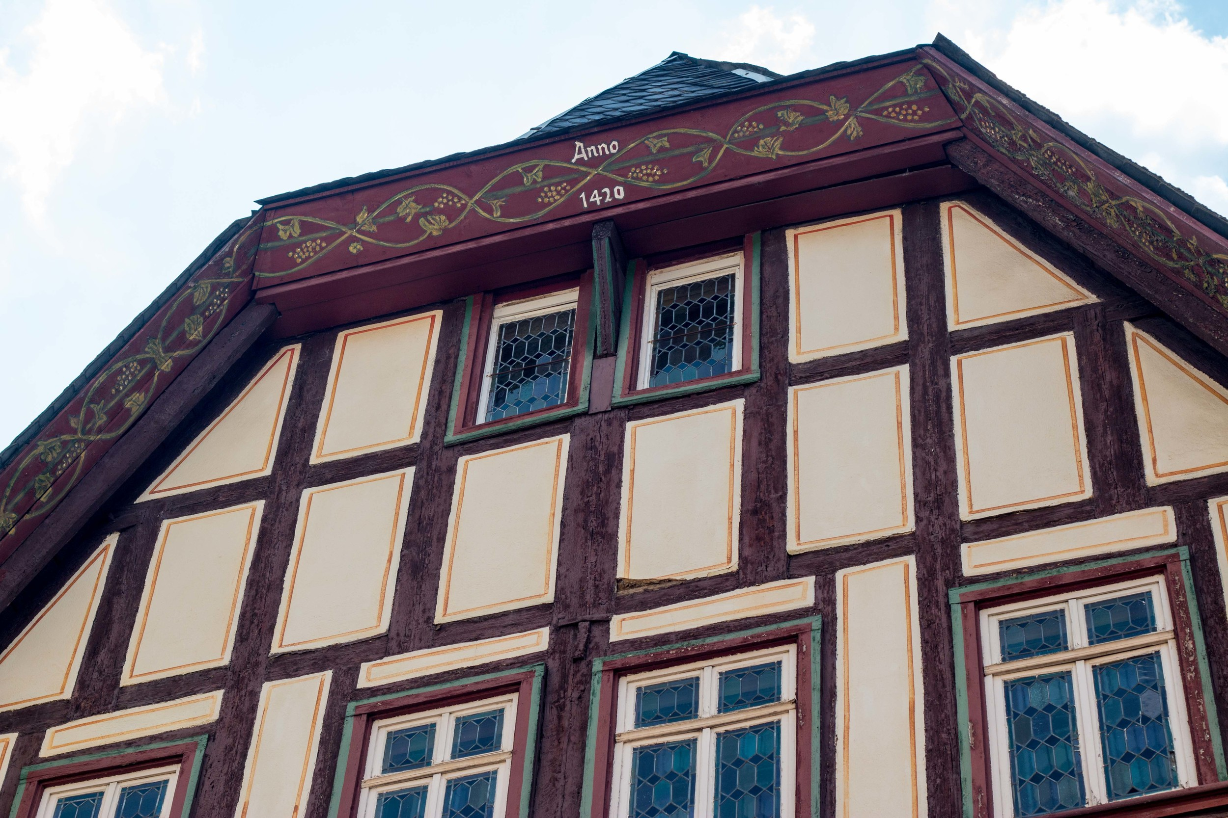 Building in Bacharach dating from 1420!