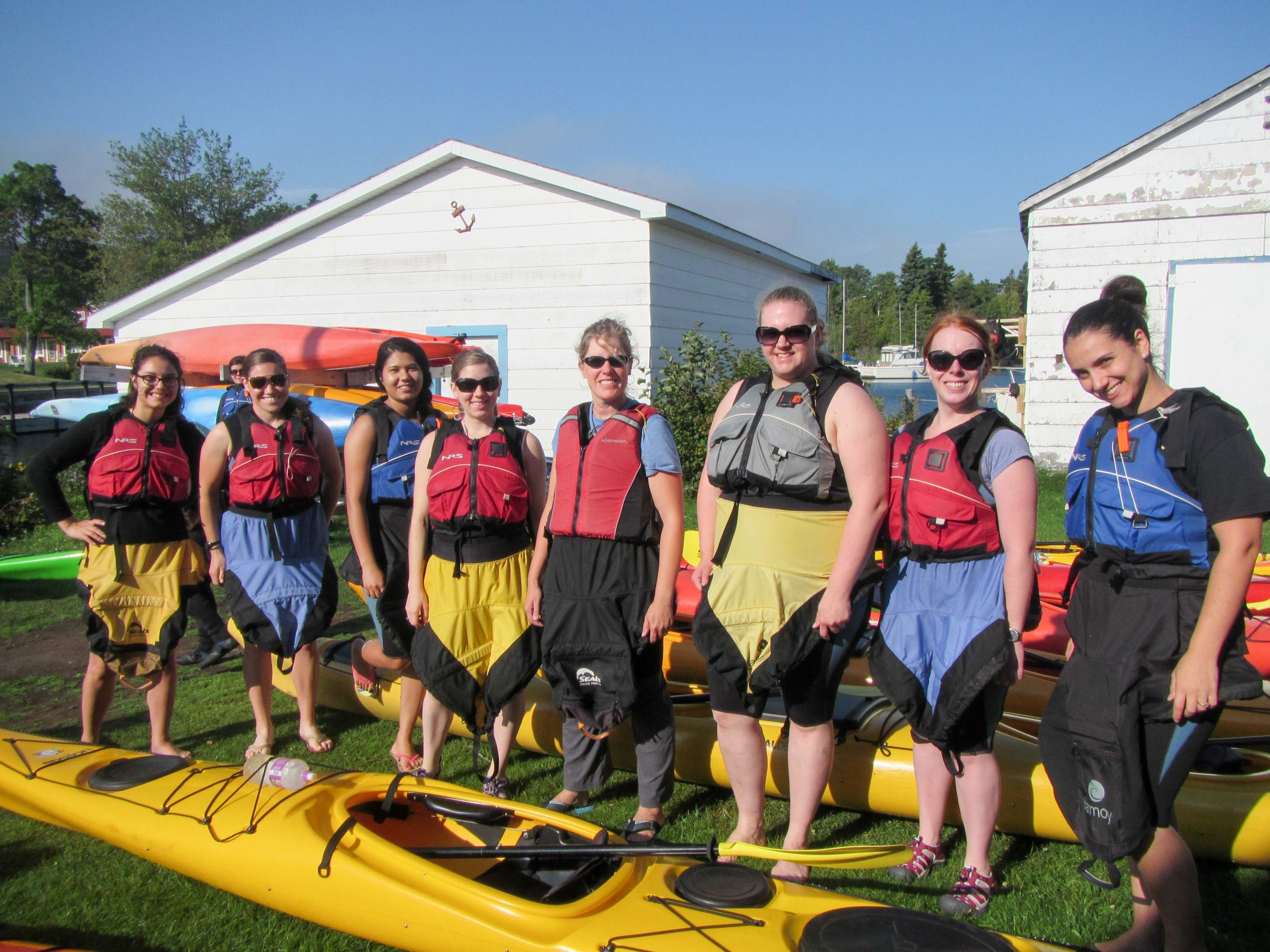 AST'S before kayaking!