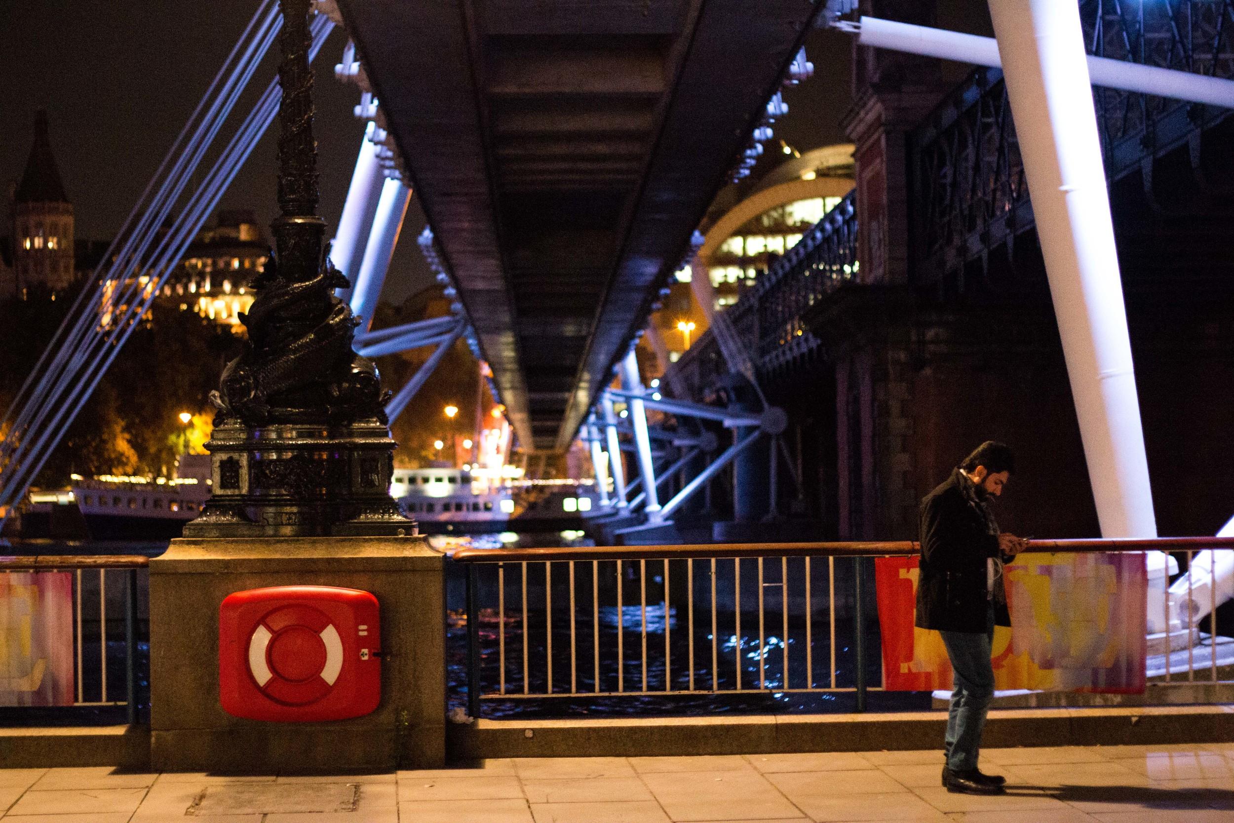 Under the Jubilee Bridges