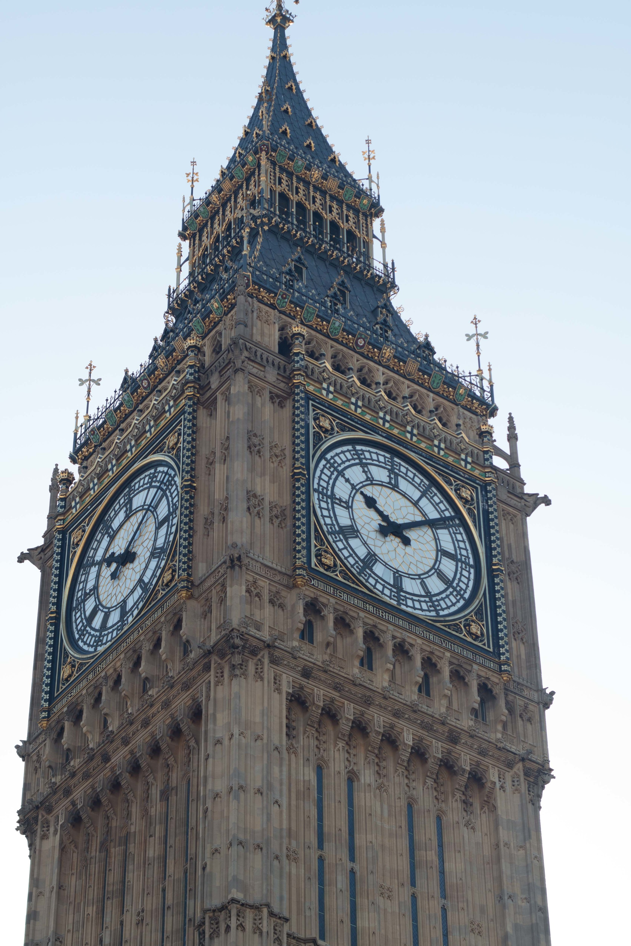 Big Ben in the Daylight