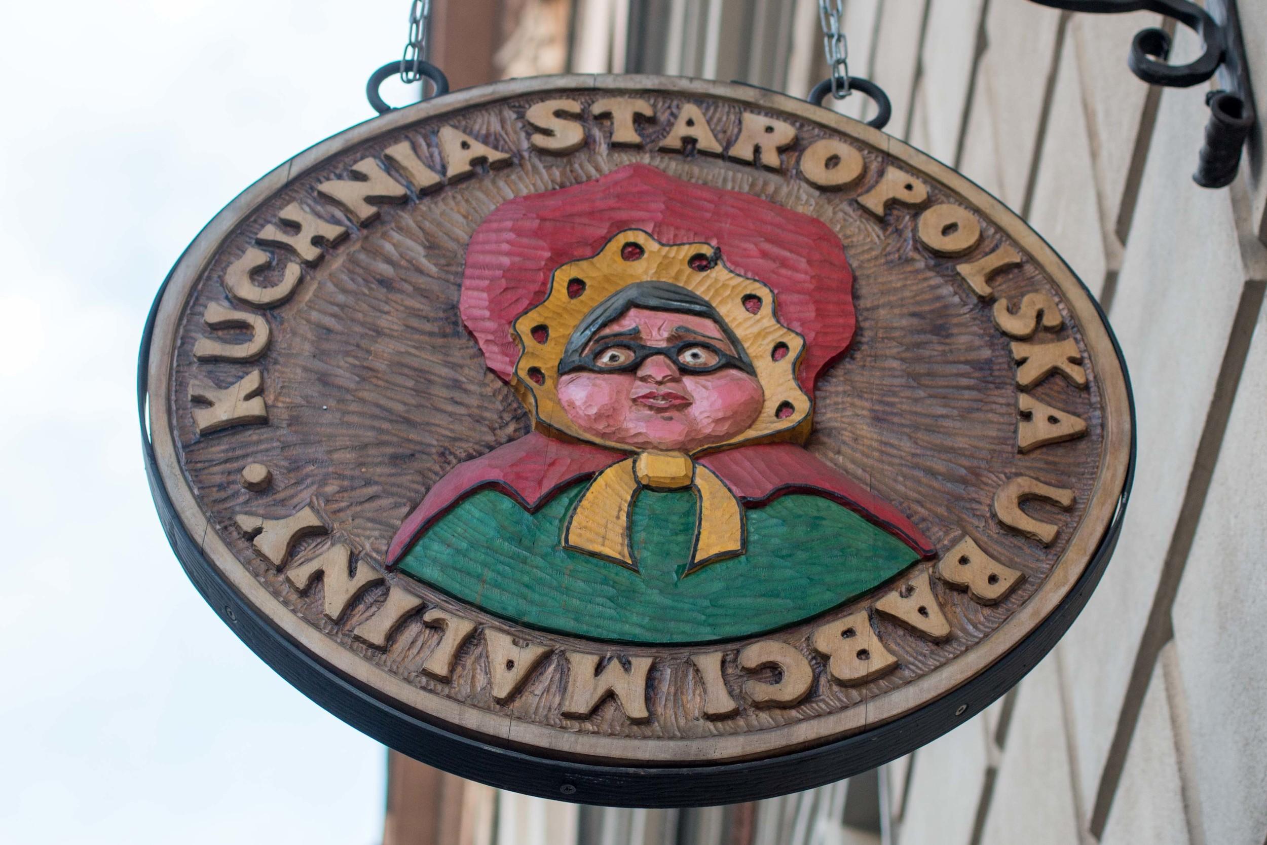 U Babci Maliny - Like Grandma's Kitchen. Tasty Polish restaurant in the Old Town