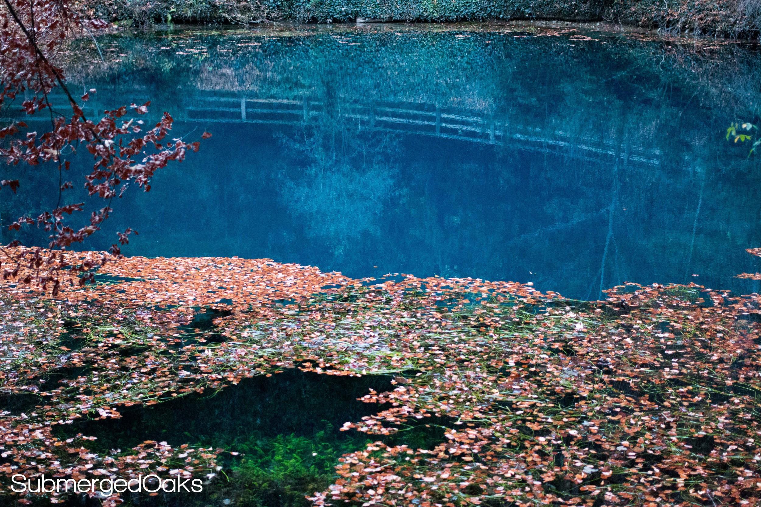 Blautopf spring in Blaubeuren