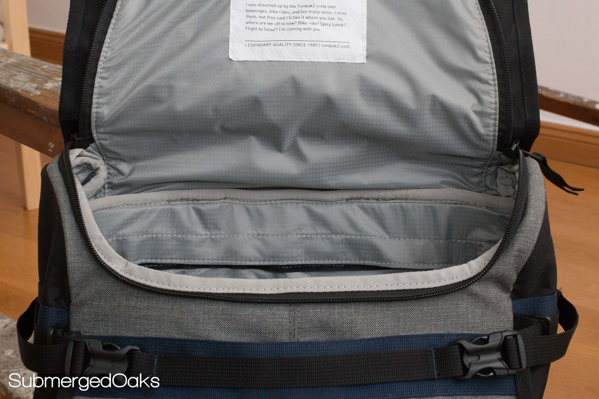 Generous opening for the top pocket making it easy to pack and unpack