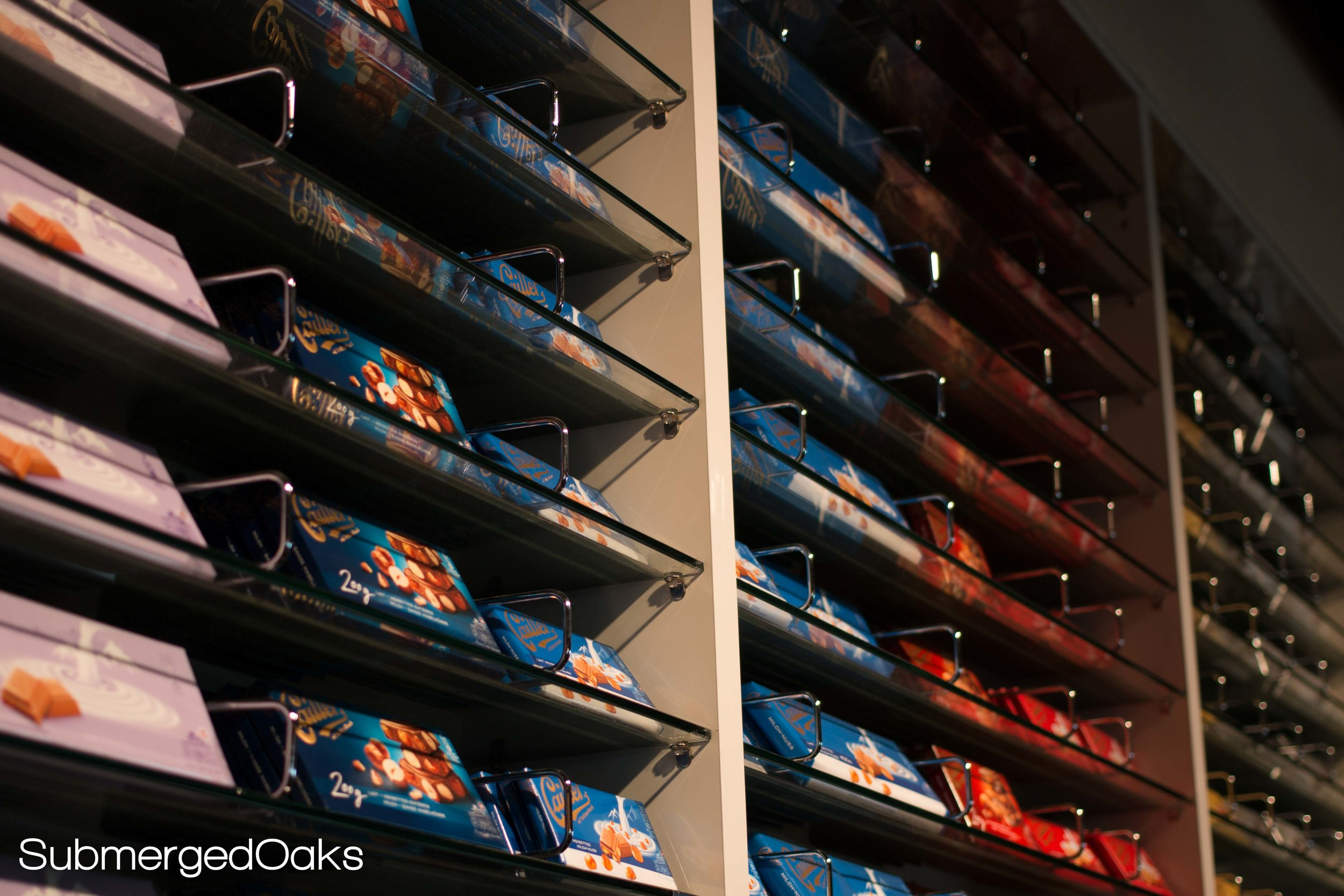 Wall of CHocolate - the dream come true of a pregnant lady!