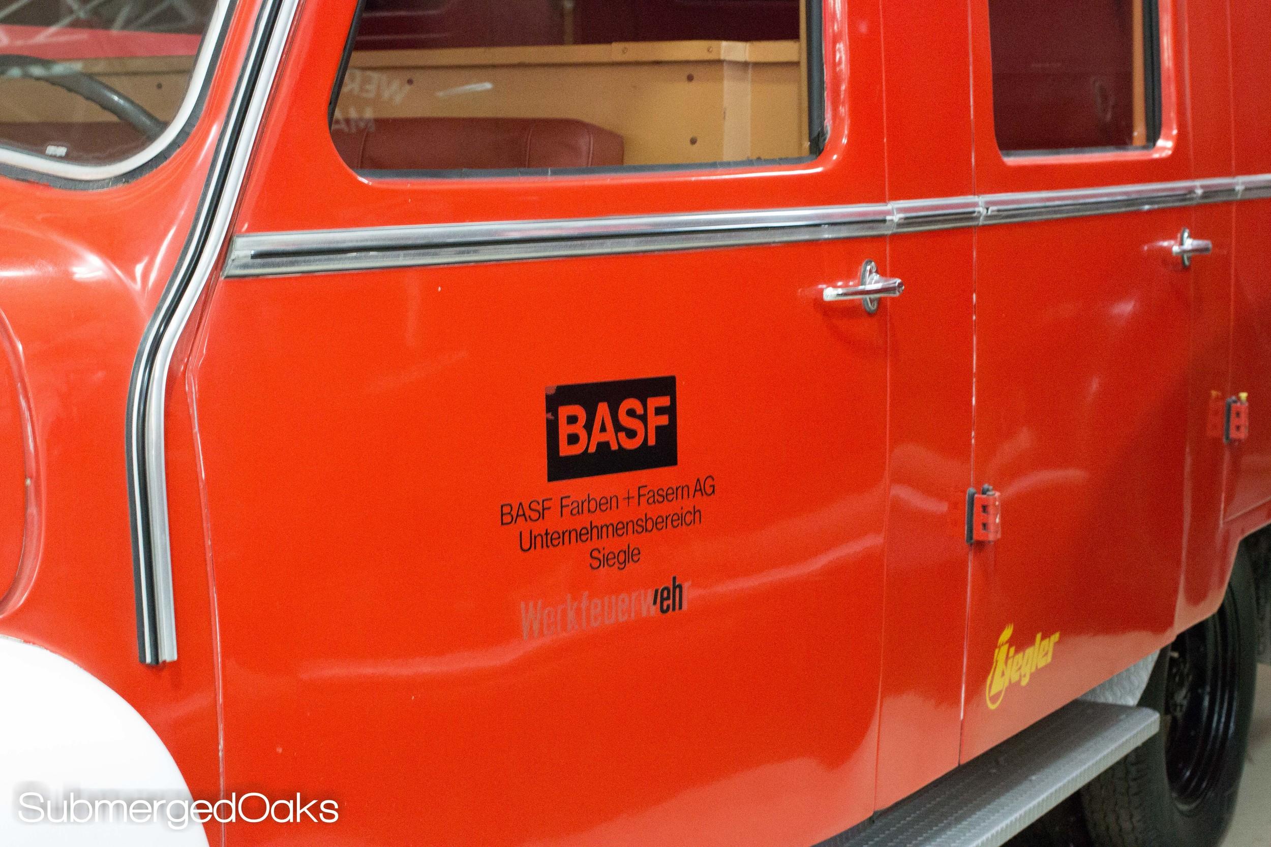 a BASF truck!