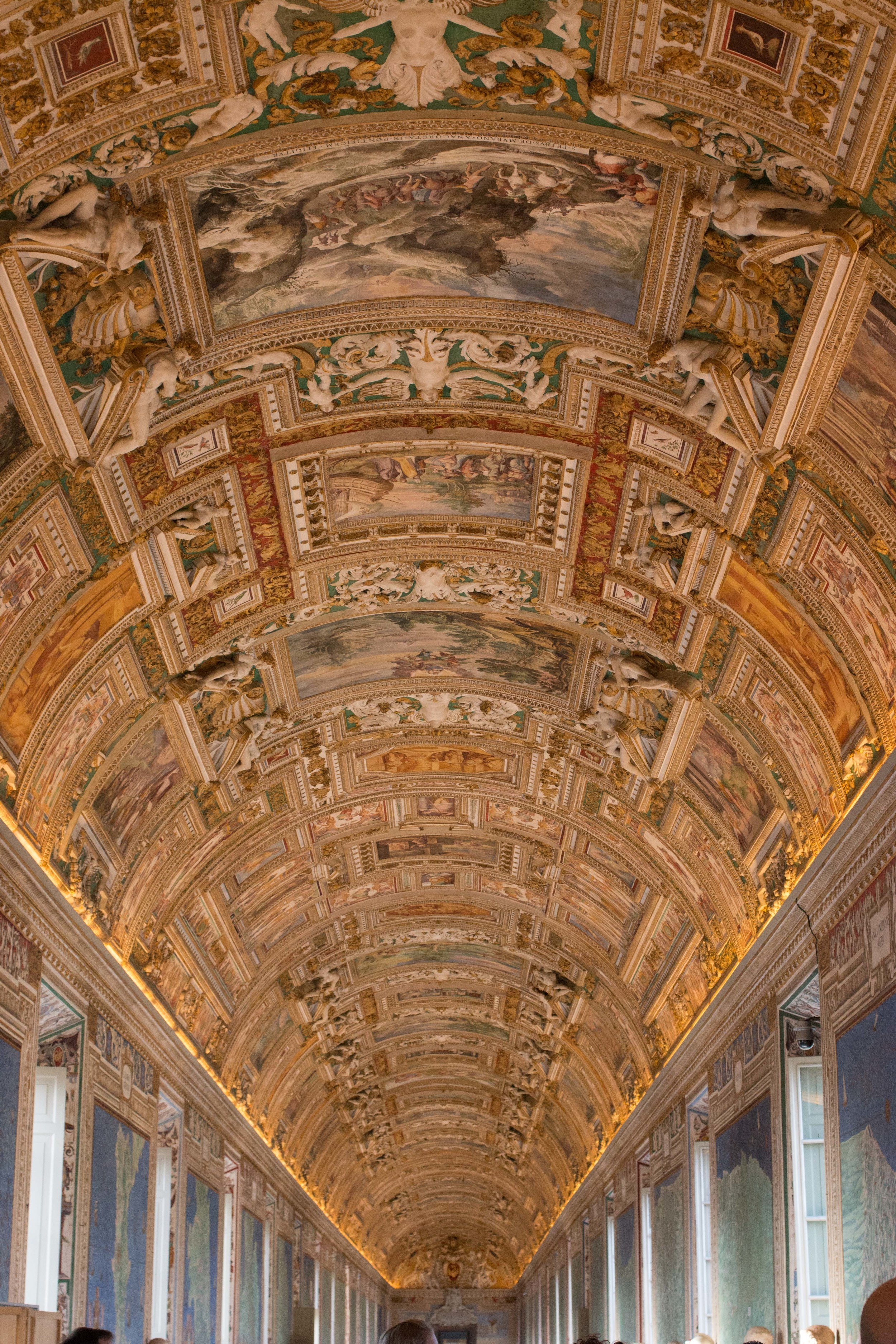 Gallery of Maps in the Vatican Museums