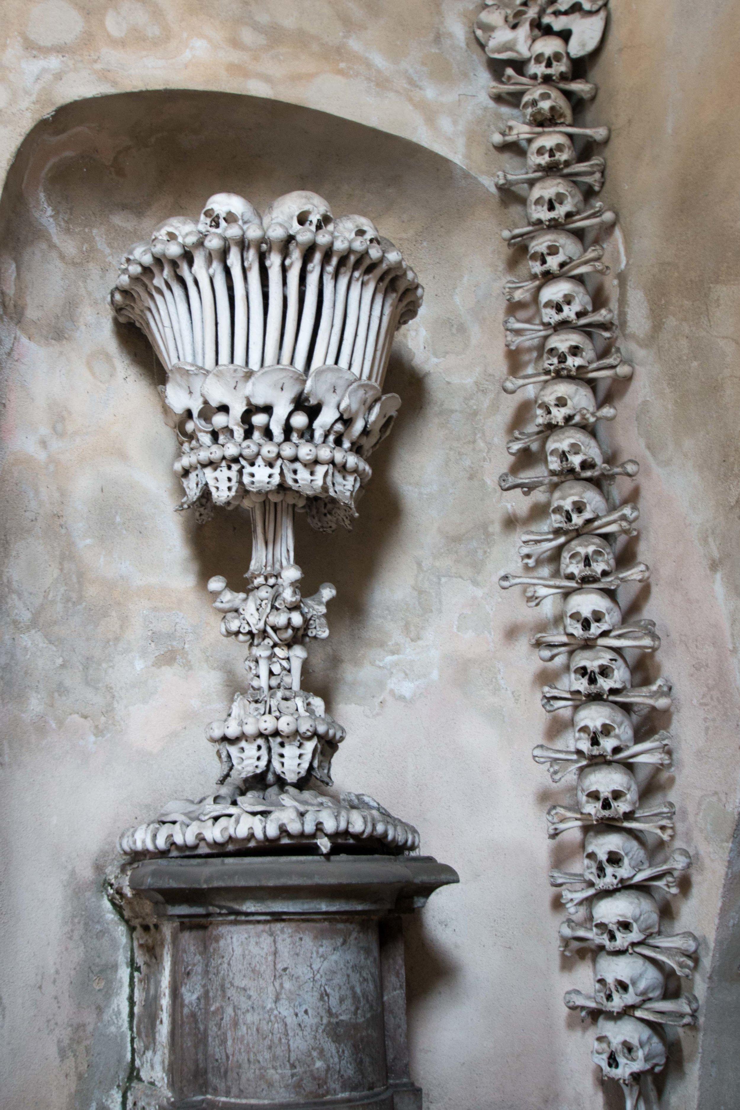 Chalice of human bones