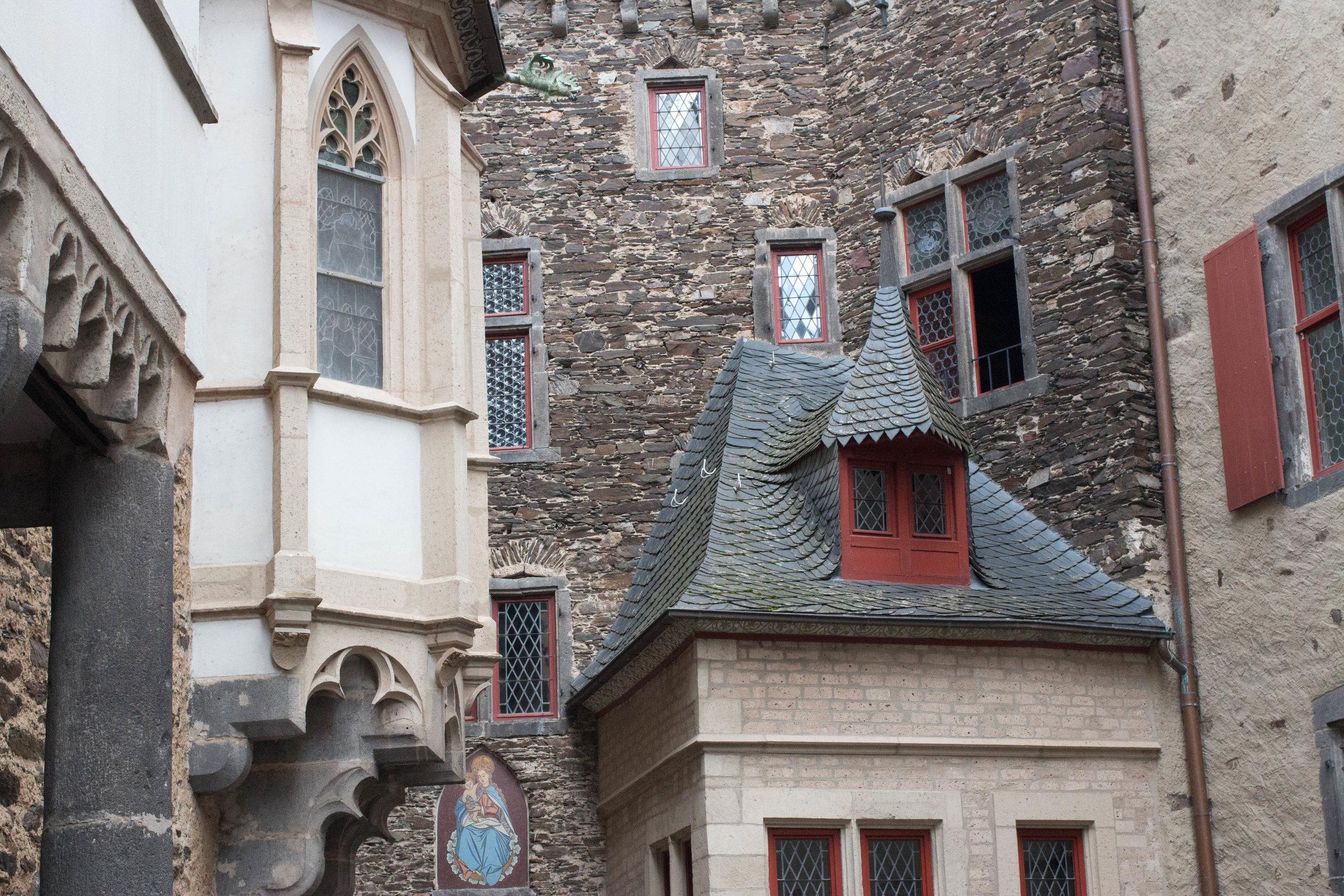 Three brothers - three distinct architecture styles