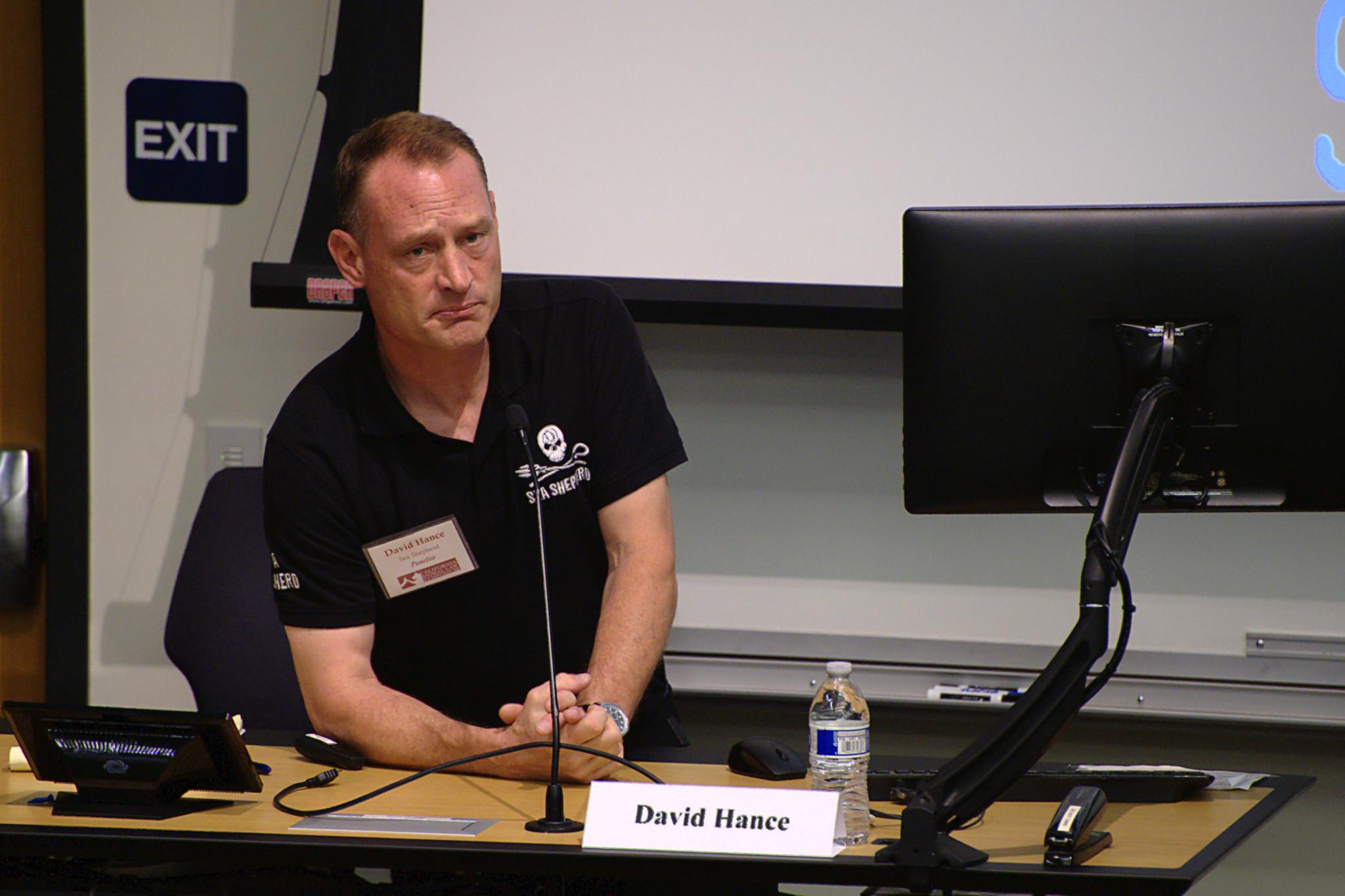 Panelist: David Hance from Sea Shepherd