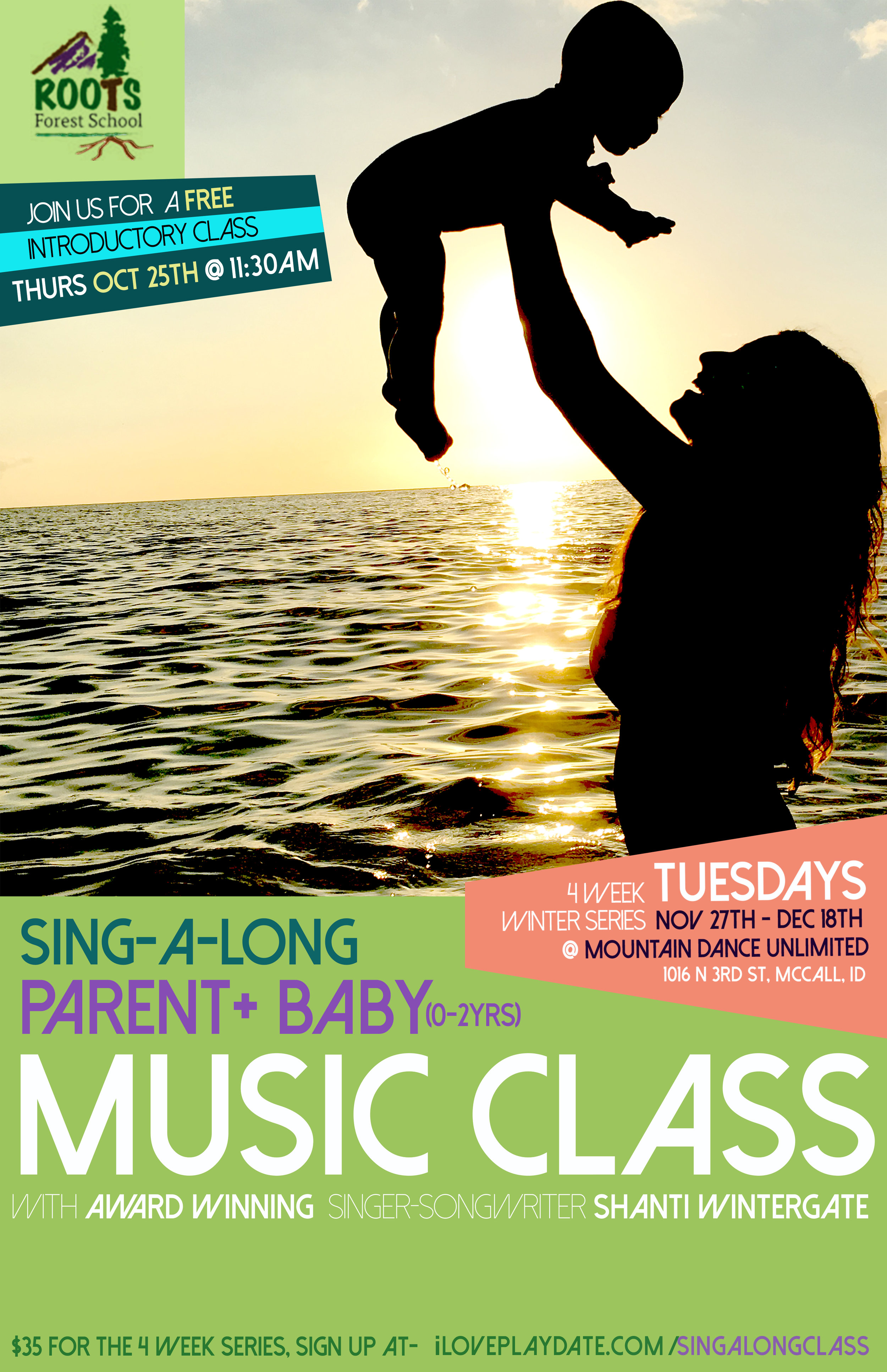 Sing Along Class Poster