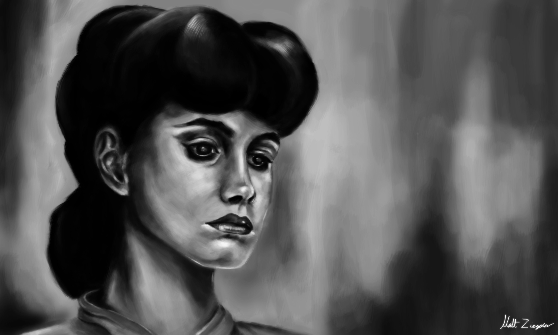 Rachael, Blade Runner portrait.