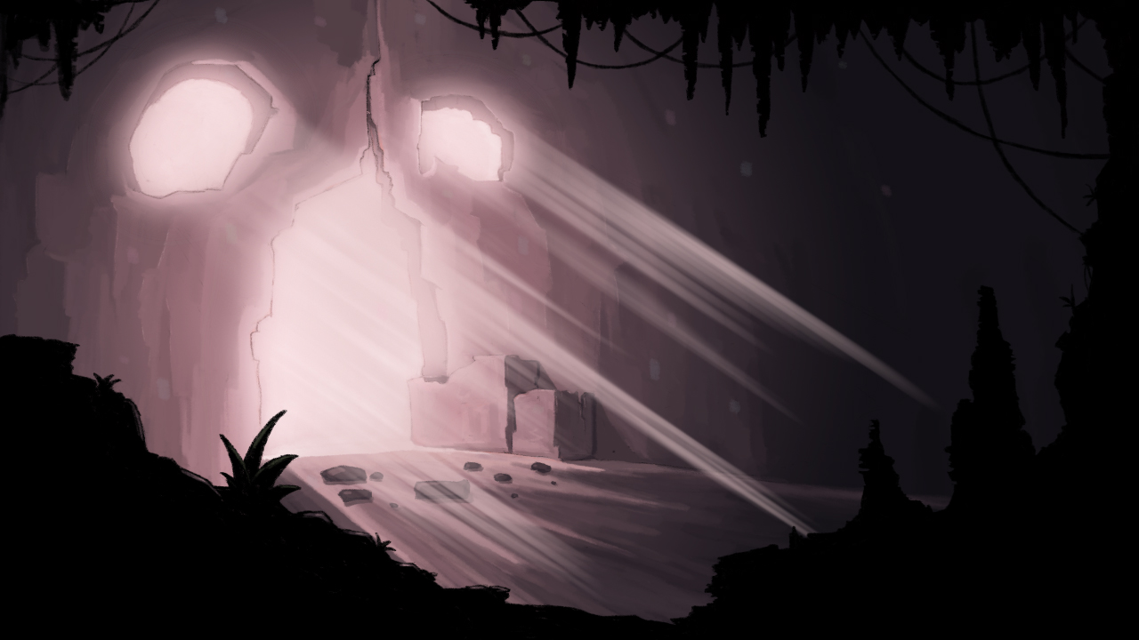 Background Painting for a LoopDeLoop animation entry.