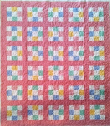 Pink Youth made by Susan R., quilted by RM 2017