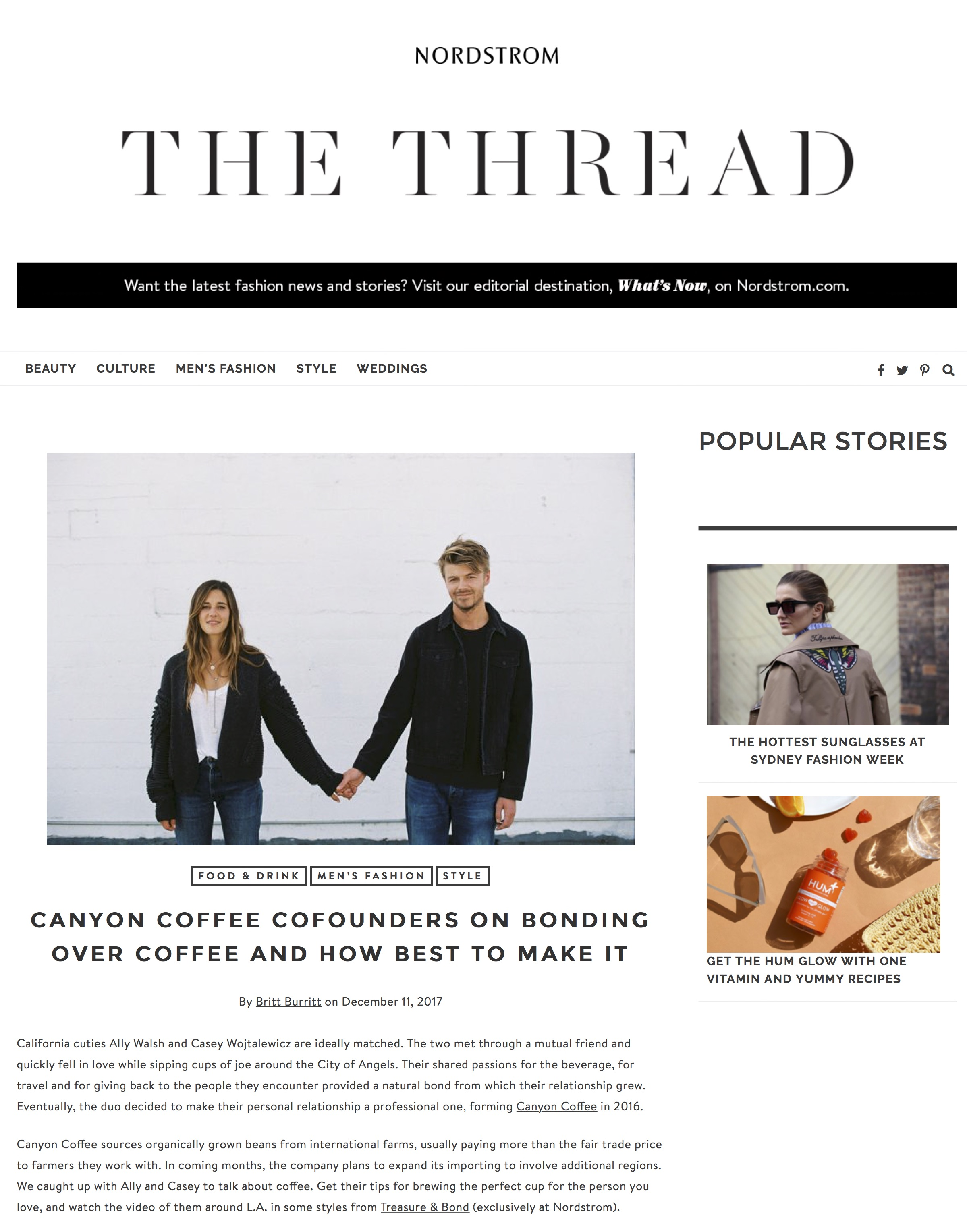 Canyon Coffee Cofounders | Nordstrom Fashion Blog.jpg