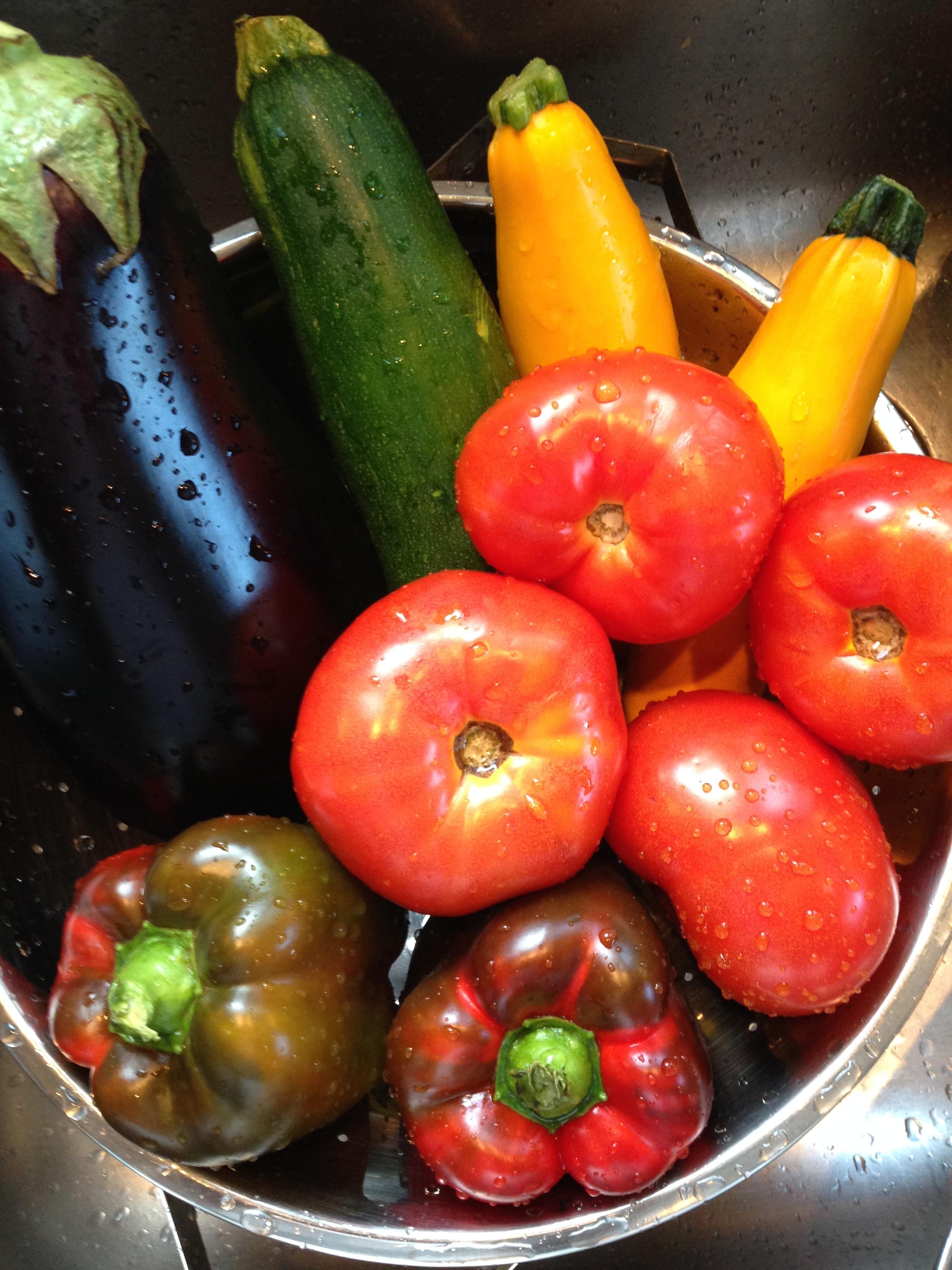 Fresh harvest, thank you Sickles Market!