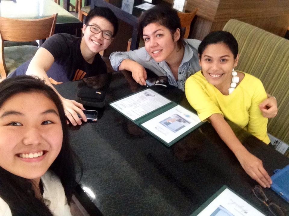 Kaya Collaborative interns Joshua Lim and Janella Chan interview Edukasyon.ph executives.