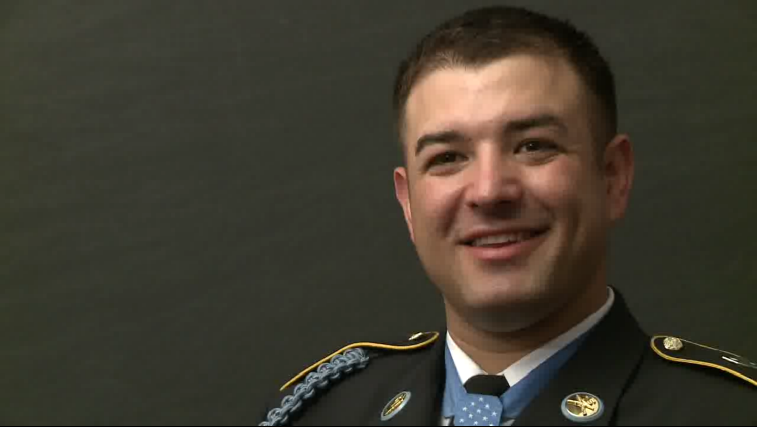 Leroy Petry  interview, still