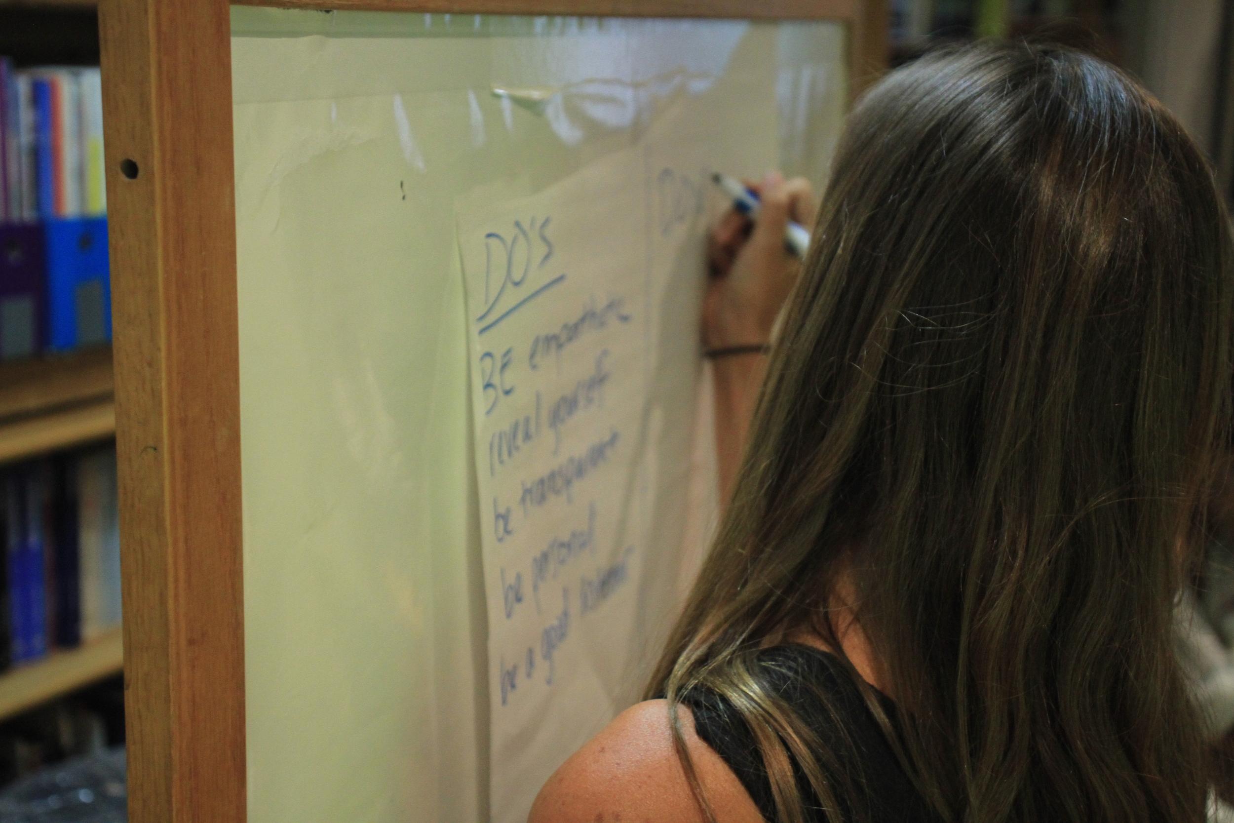Art and Empathy Workshop. Photo by Daniel Kim