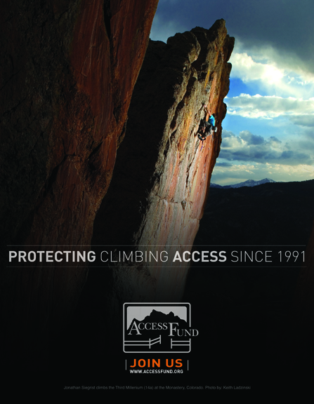 Access Fund Branding and Advertising