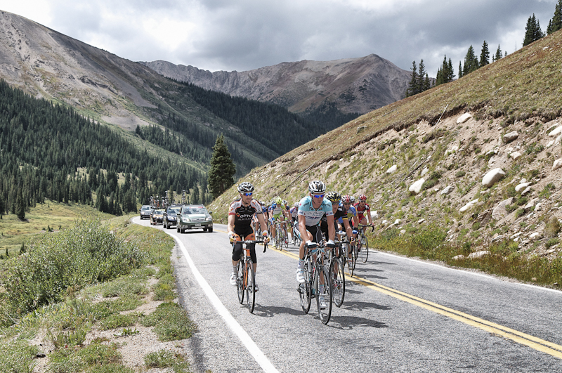 Went to Independence Pass to cheer on the race during stage 4 of the US Pro Cycling Challenge. Had a beautiful alpine setting to hang out in all day and lots of excitement from from watching the race.   Jens Voigt is a bad ass, 41 years old, won stage 4 by a solo breakaway at the beginning of the day that lasted 151 miles to the finish where he finished 4 minutes up. I saw a post that showed his hr monitor data. Avg 300 watts and maxed out at 999 watts, wow!