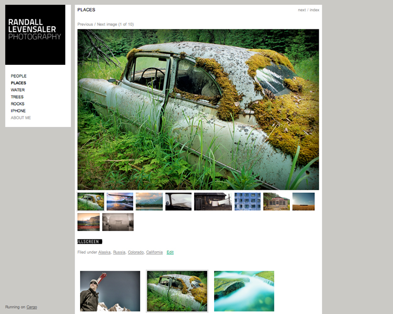 Just launched a new photography website! Take a look and let me know what you think. Thanks! http://photo.levensaler.com