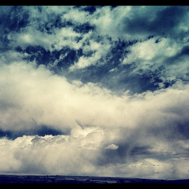 Cool clouds in Boulder right now (Taken with  instagram )