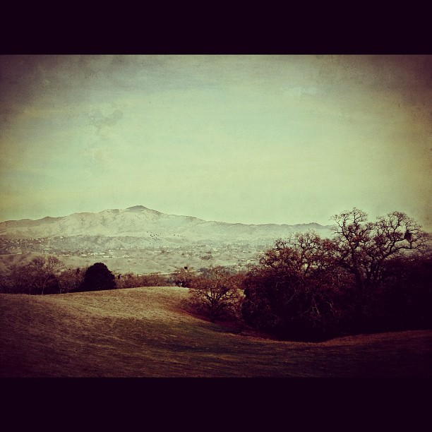 A couple photos from my California road trip. Mt. Diablo from Las Trampas.