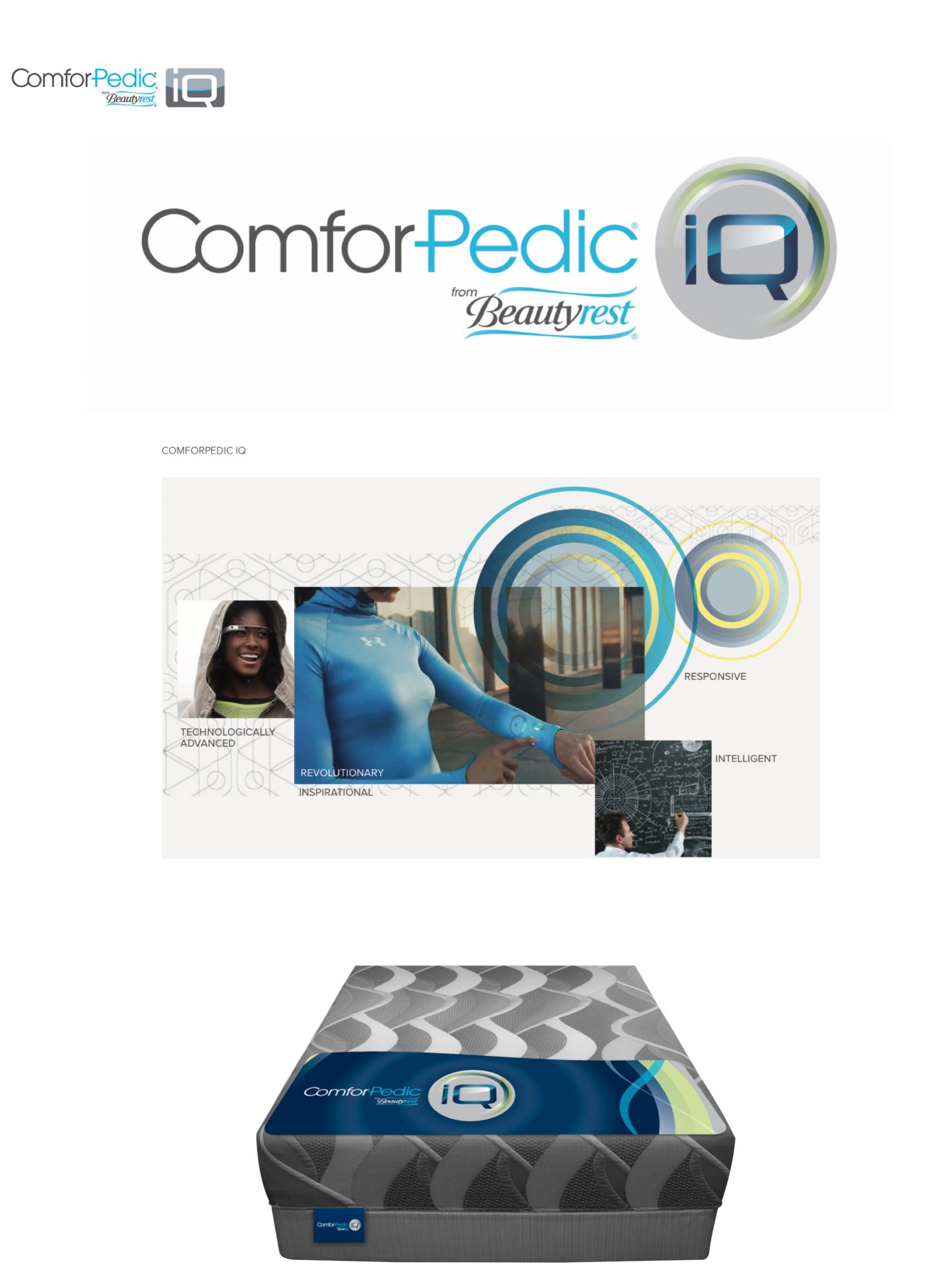 Created Logo to look like an app, moodboard & foot streamer