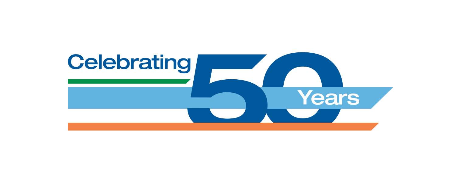 Verst Group Logistics Celebrating 50 Years Anniversary Logo, Final Logo printed on their semis. This was not the final logo but it was my favorite concept created.