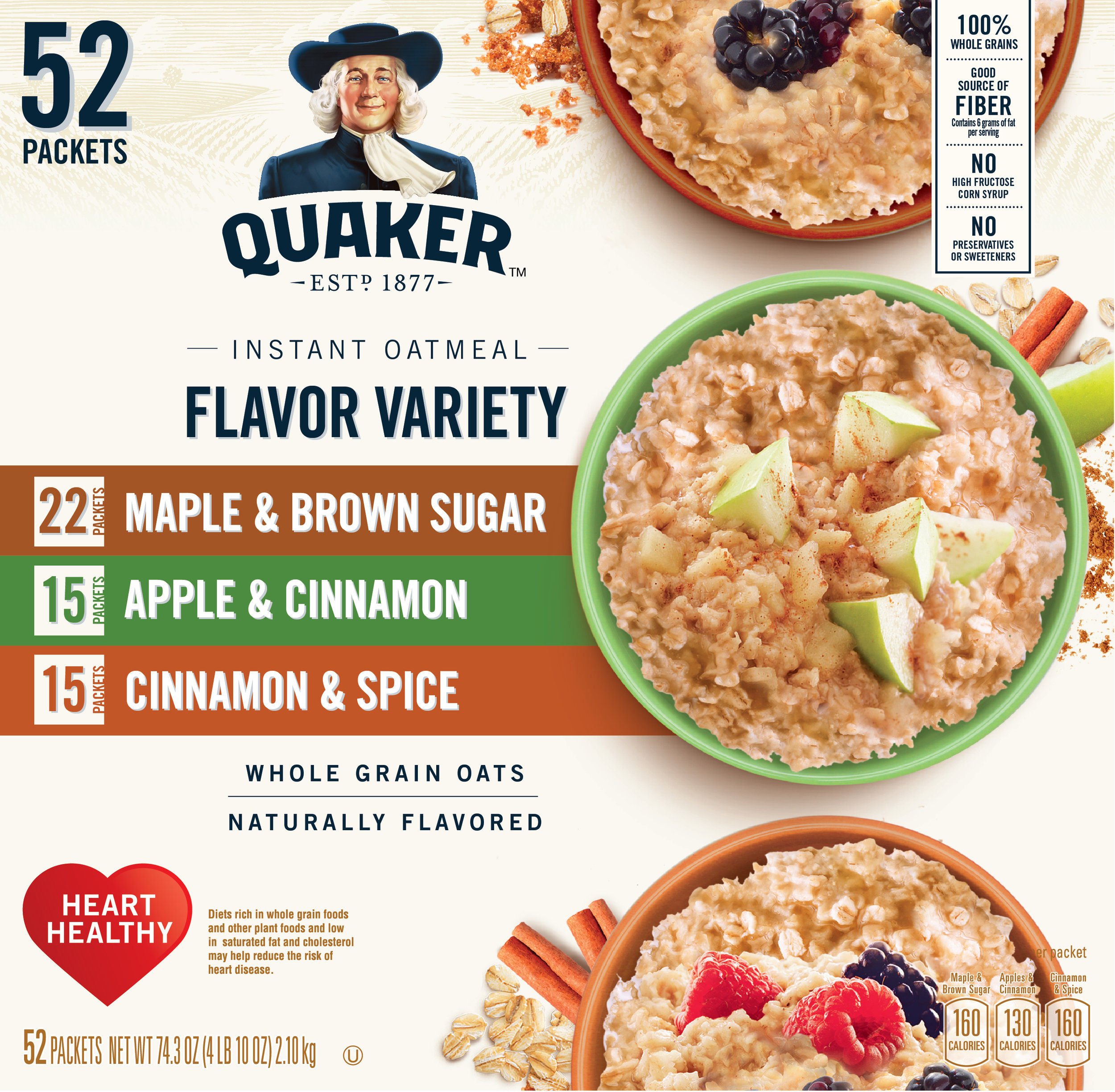 Quaker Applying new design architecture globally  for club packaging, in store displays, and seasonal packaging. @hauggardcreative